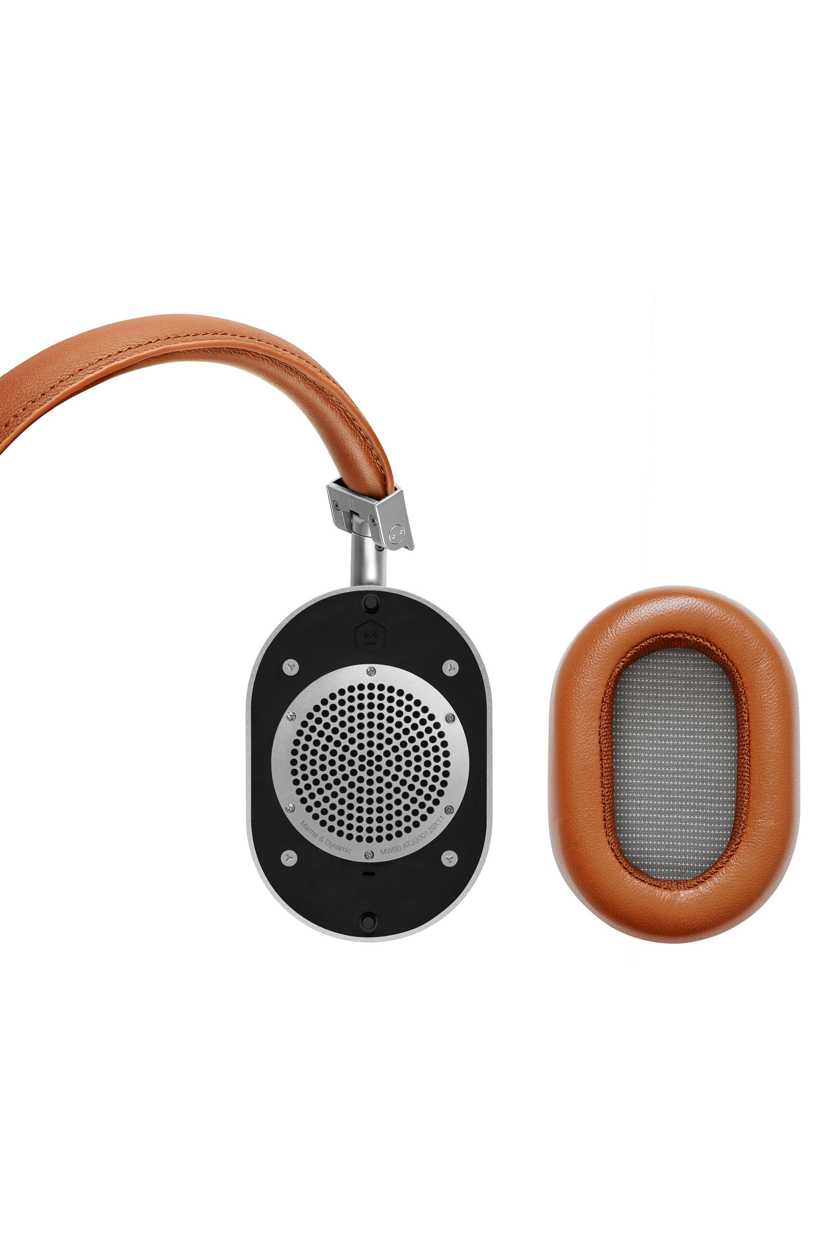 Alternate Image 3  - Master & Dynamic MW60 Wireless Leather Over Ear Headphones