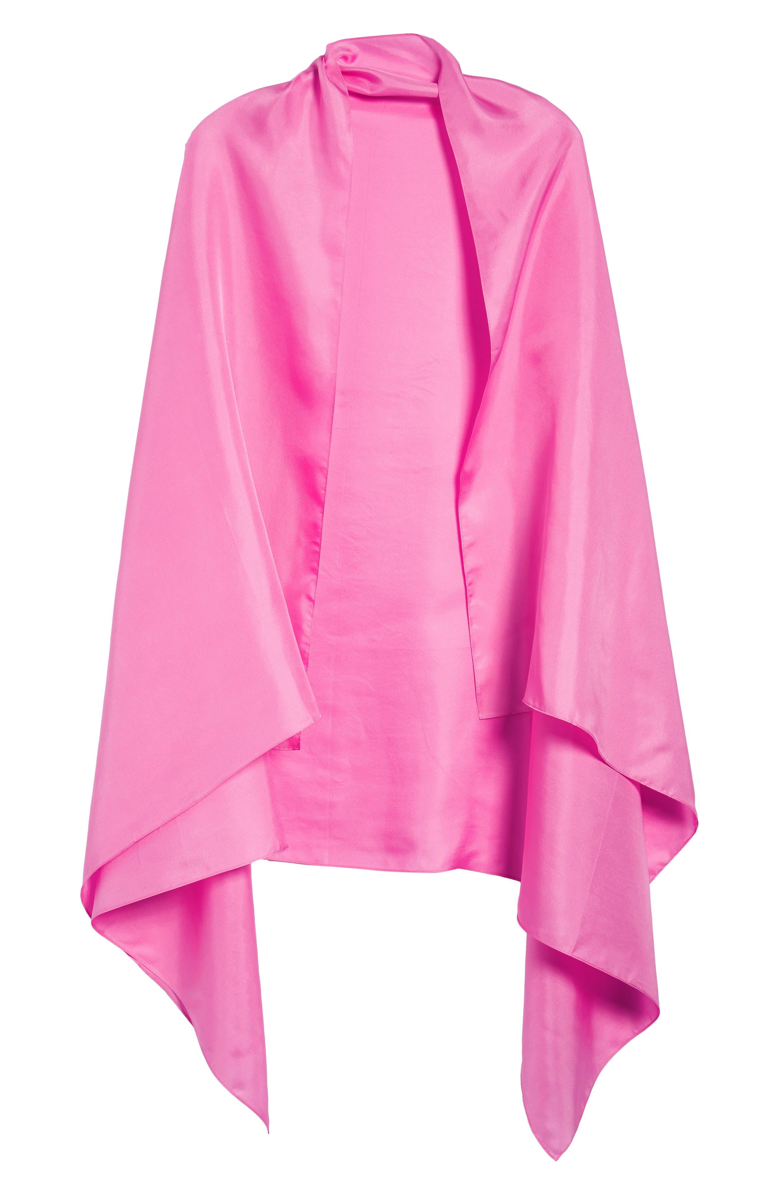 Everyday Silk Wrap,                             Alternate thumbnail 6, color,                             Peony