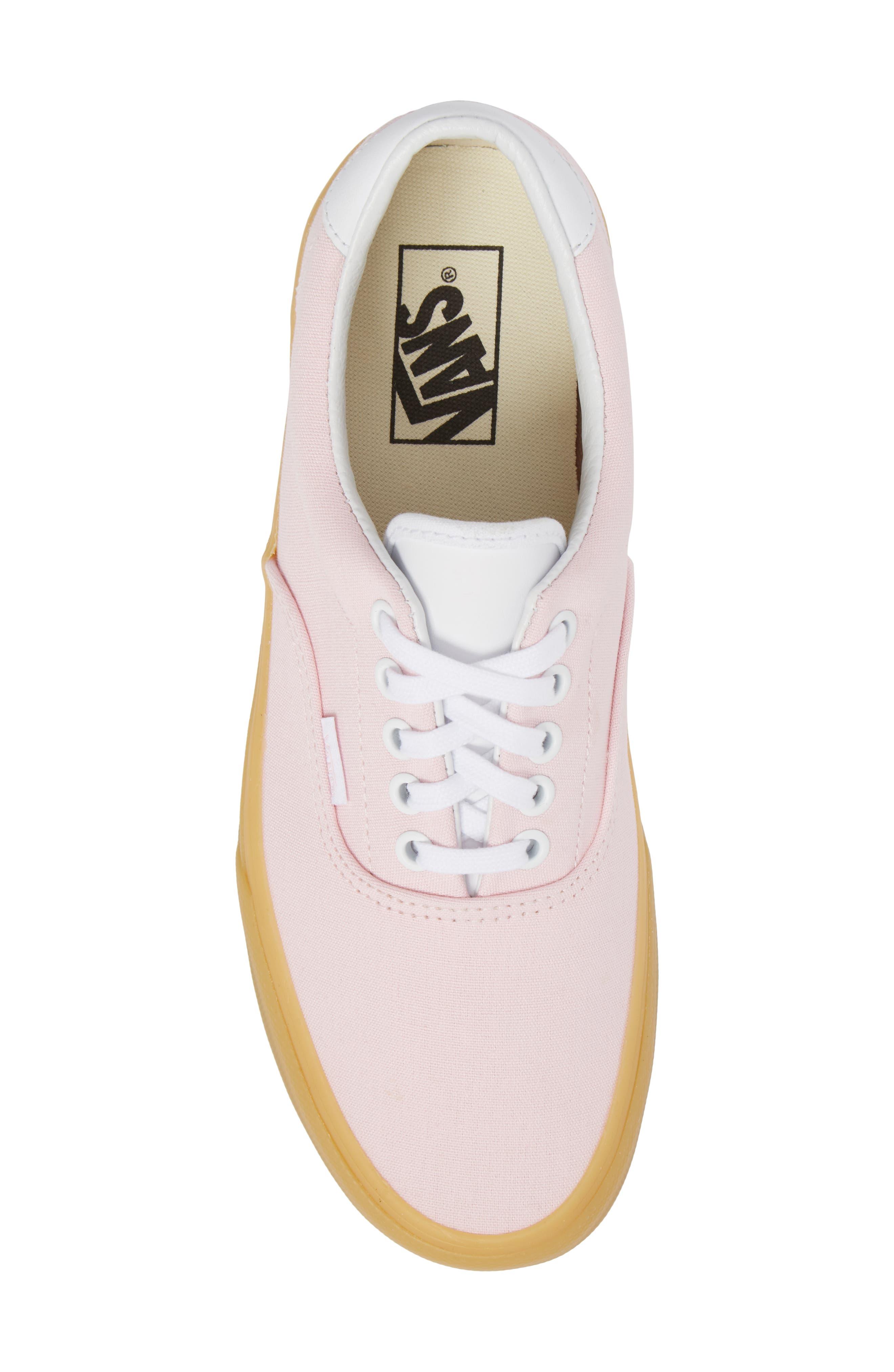 Era 59 Gum Sneaker,                             Alternate thumbnail 5, color,                             Chalk Pink