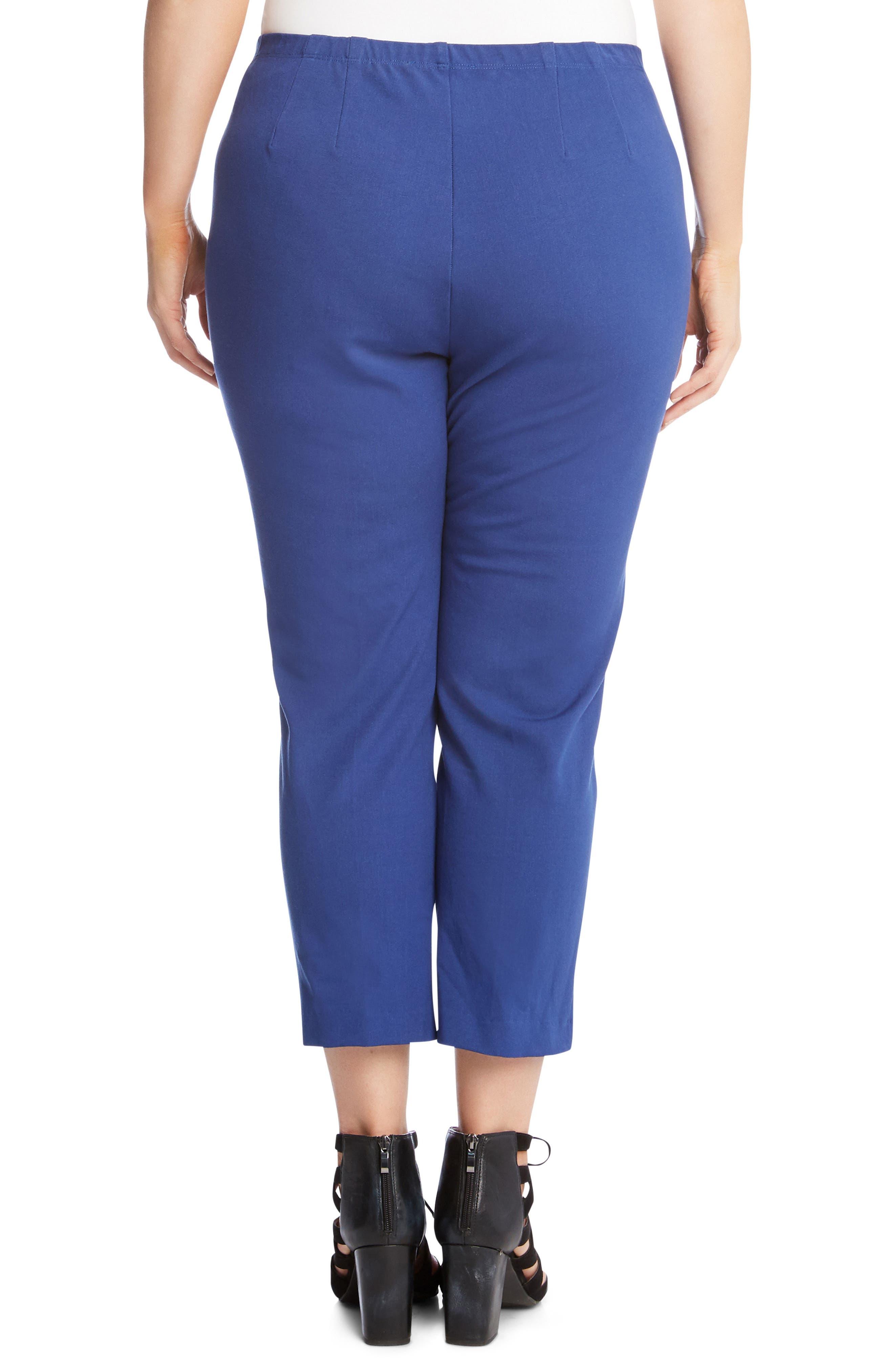 Alternate Image 2  - Karen Kane Piper Skinny Ankle Pants (Plus Size)