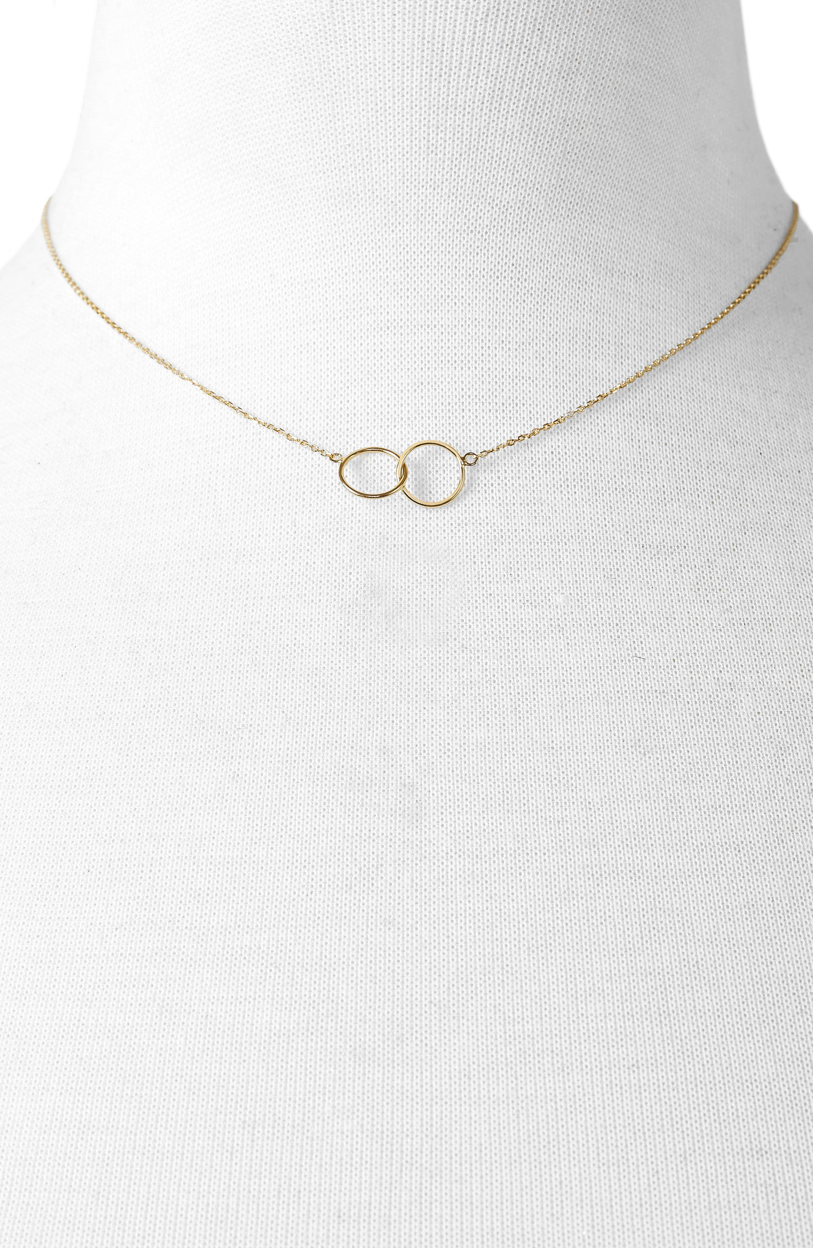 Connesso Everyday Fine Pendant Necklace,                             Alternate thumbnail 2, color,                             Gold