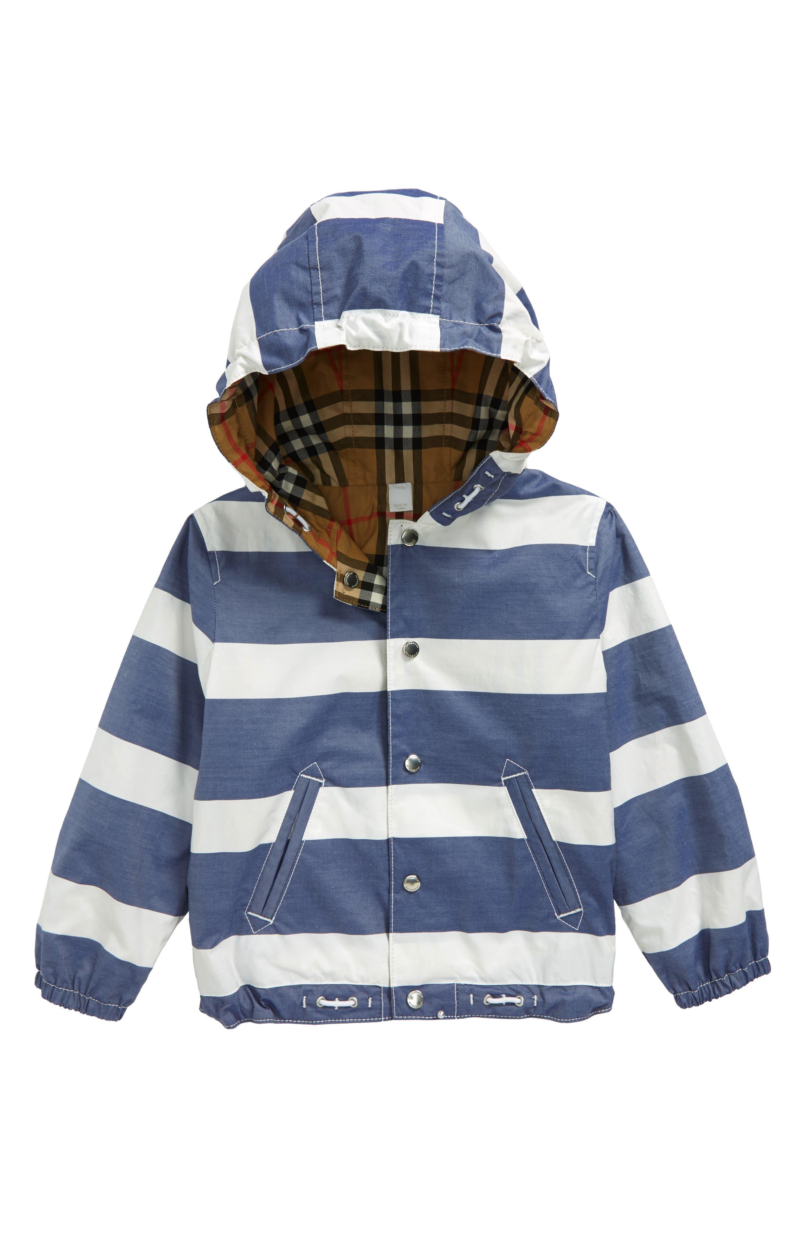 Burberry Mayer Hooded Reversible Jacket (Toddler Boys)