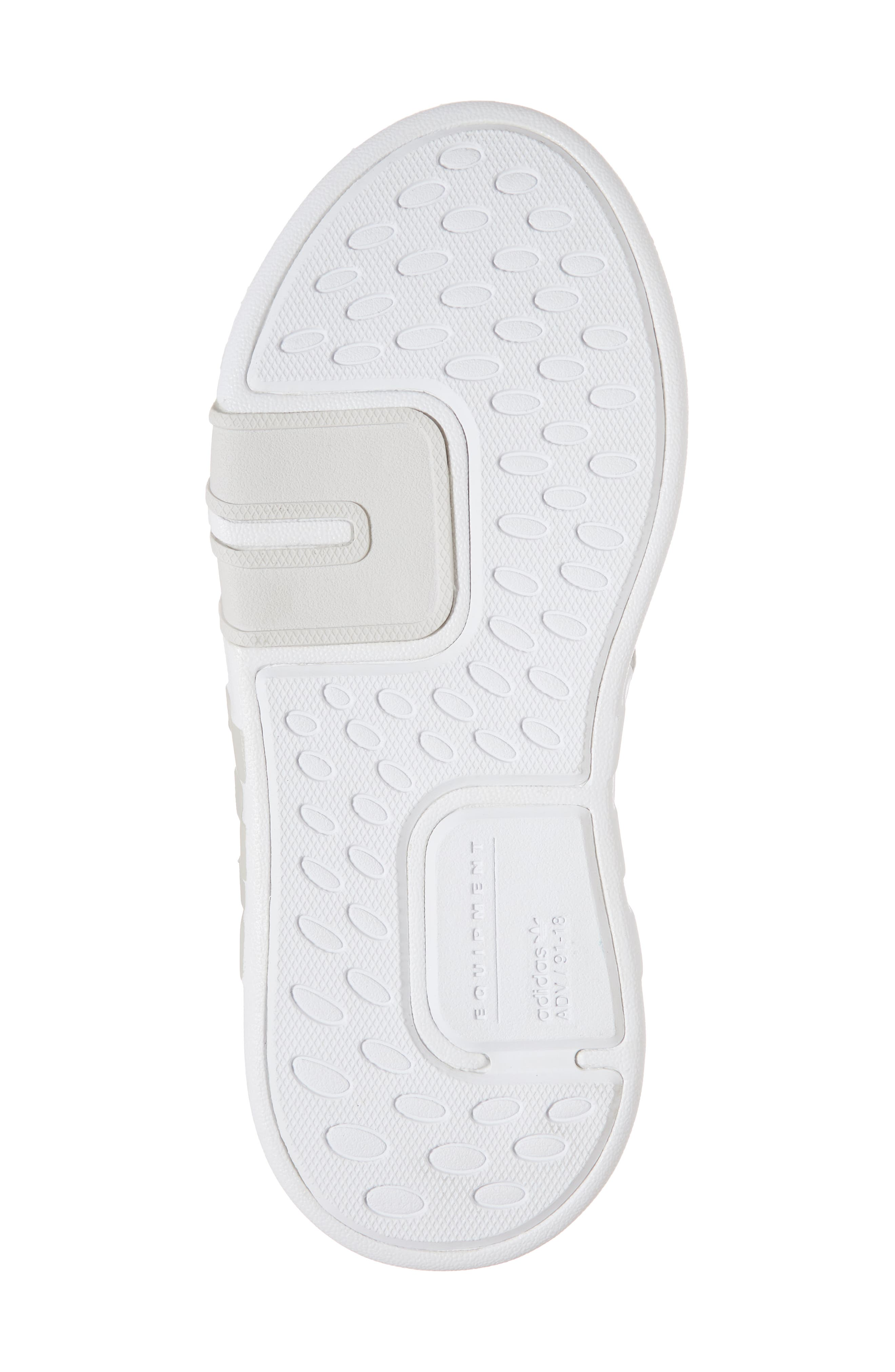 EQT Basketball ADV I Sneaker,                             Alternate thumbnail 6, color,                             Grey / Grey / Green