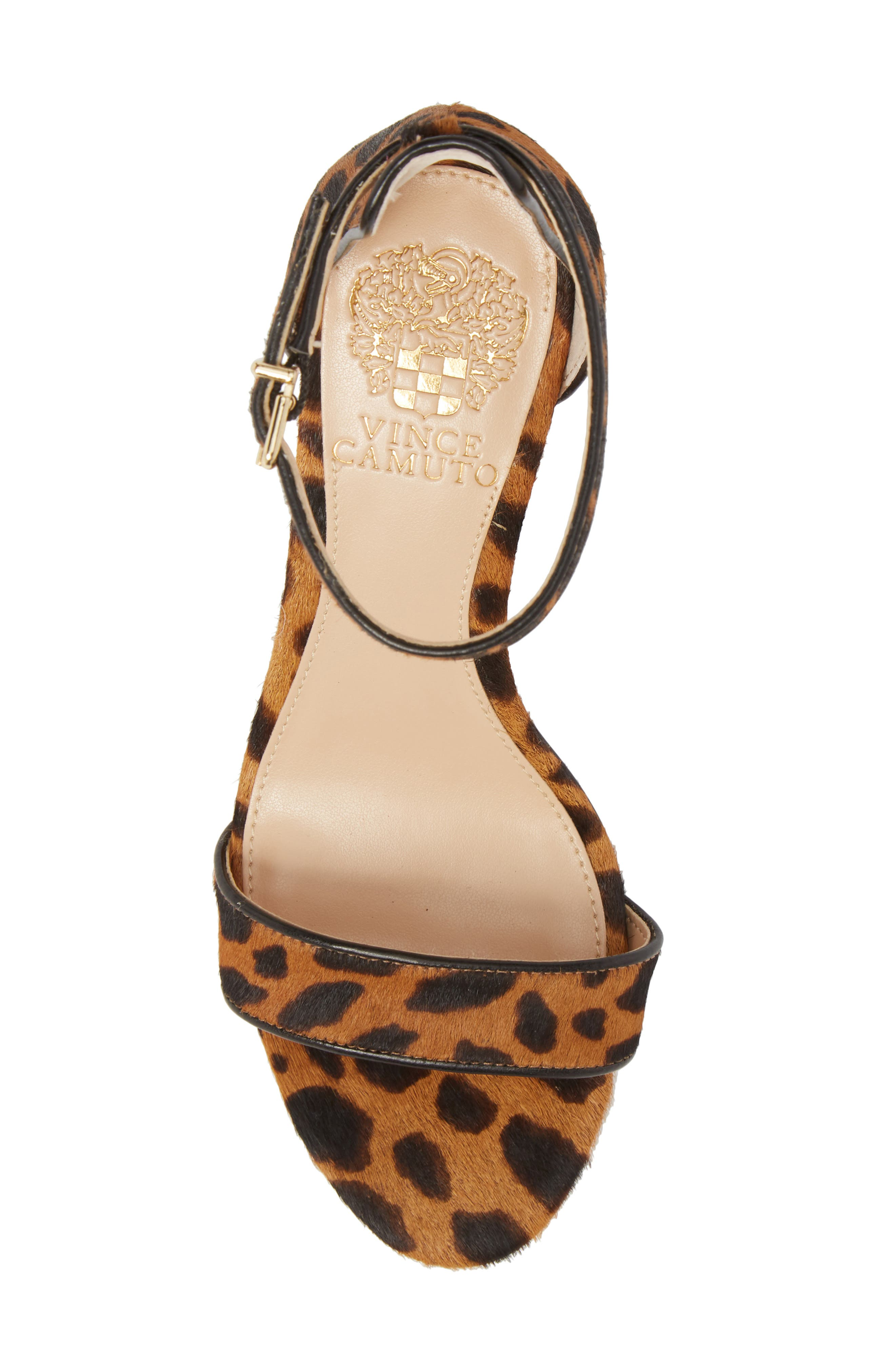 Alternate Image 5  - Vince Camuto Sebatini Genuine Calf Hair Sandal (Women)