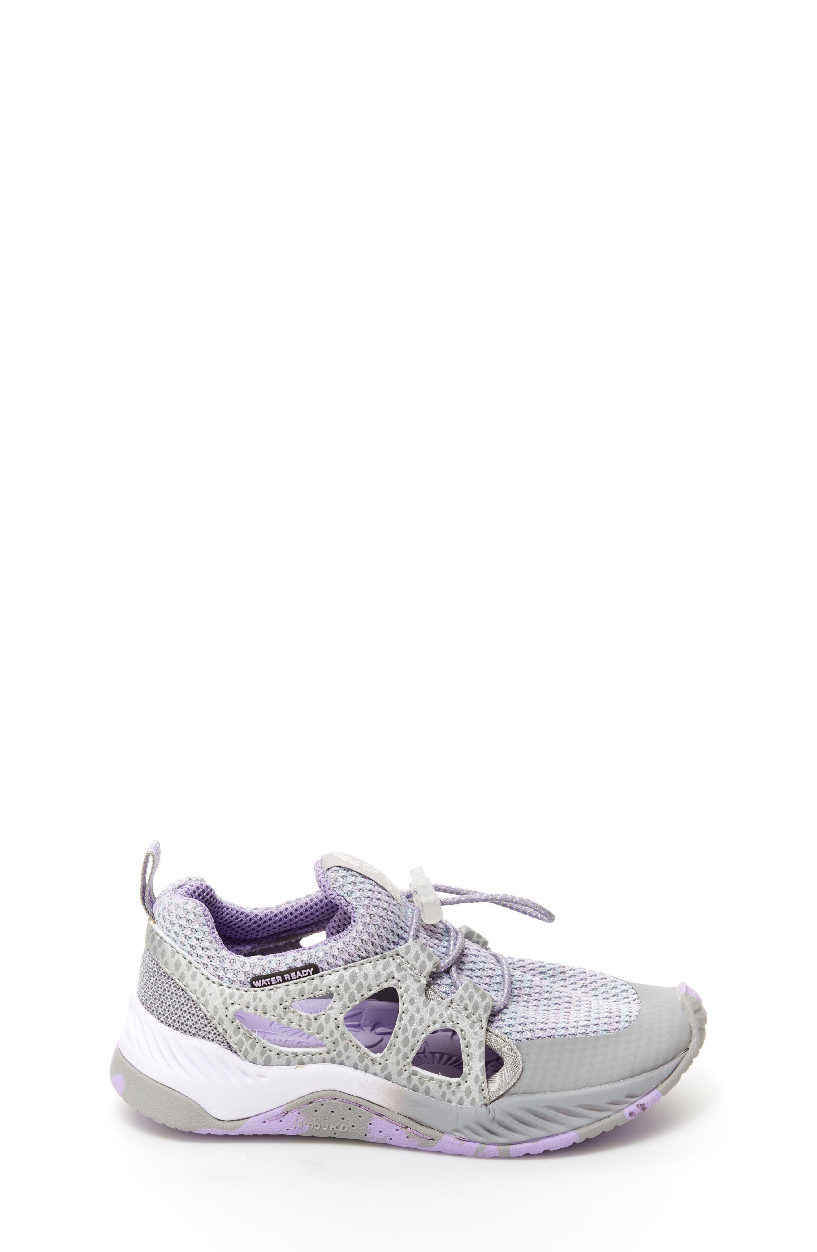 Anthozoa Water Friendly Sneaker,                             Alternate thumbnail 3, color,                             Silver