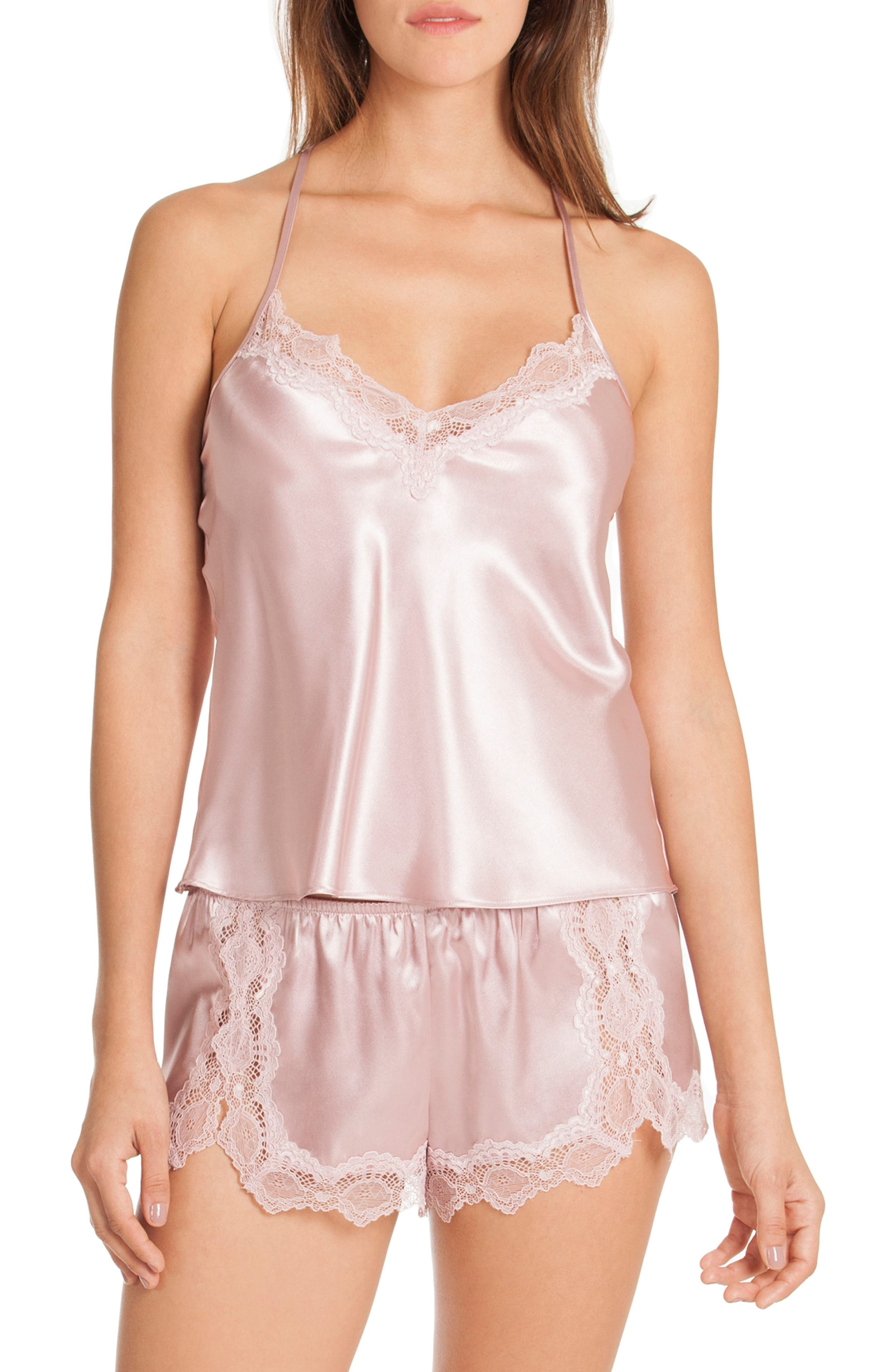 In Bloom by Jonquil Satin Short Pajamas (Nordstrom Exclusive)