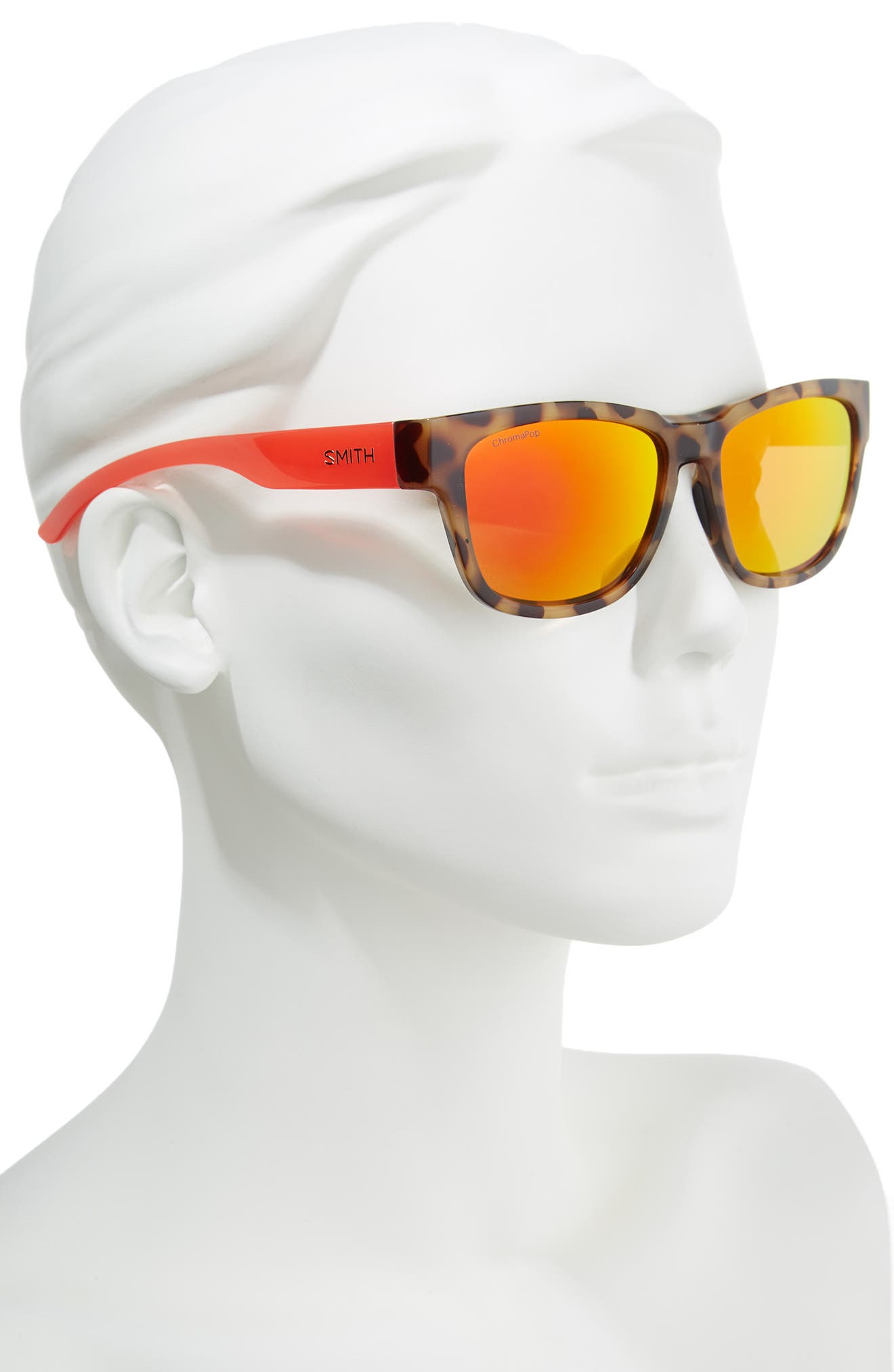 Ember 52mm ChromaPop<sup>™</sup> Sunglasses,                             Alternate thumbnail 2, color,                             Havana Rise