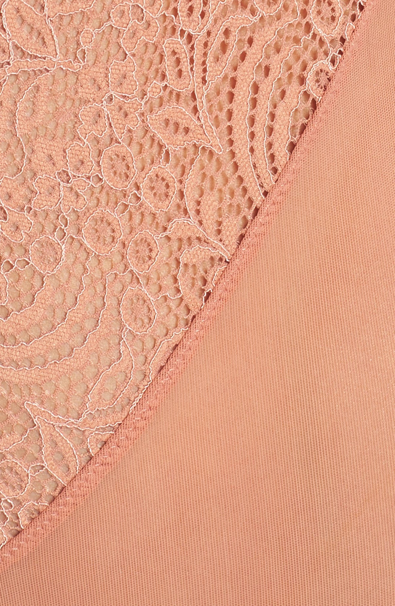 Thistle & Spire Marcy Soft Cup Bodysuit,                             Alternate thumbnail 5, color,                             Terracotta