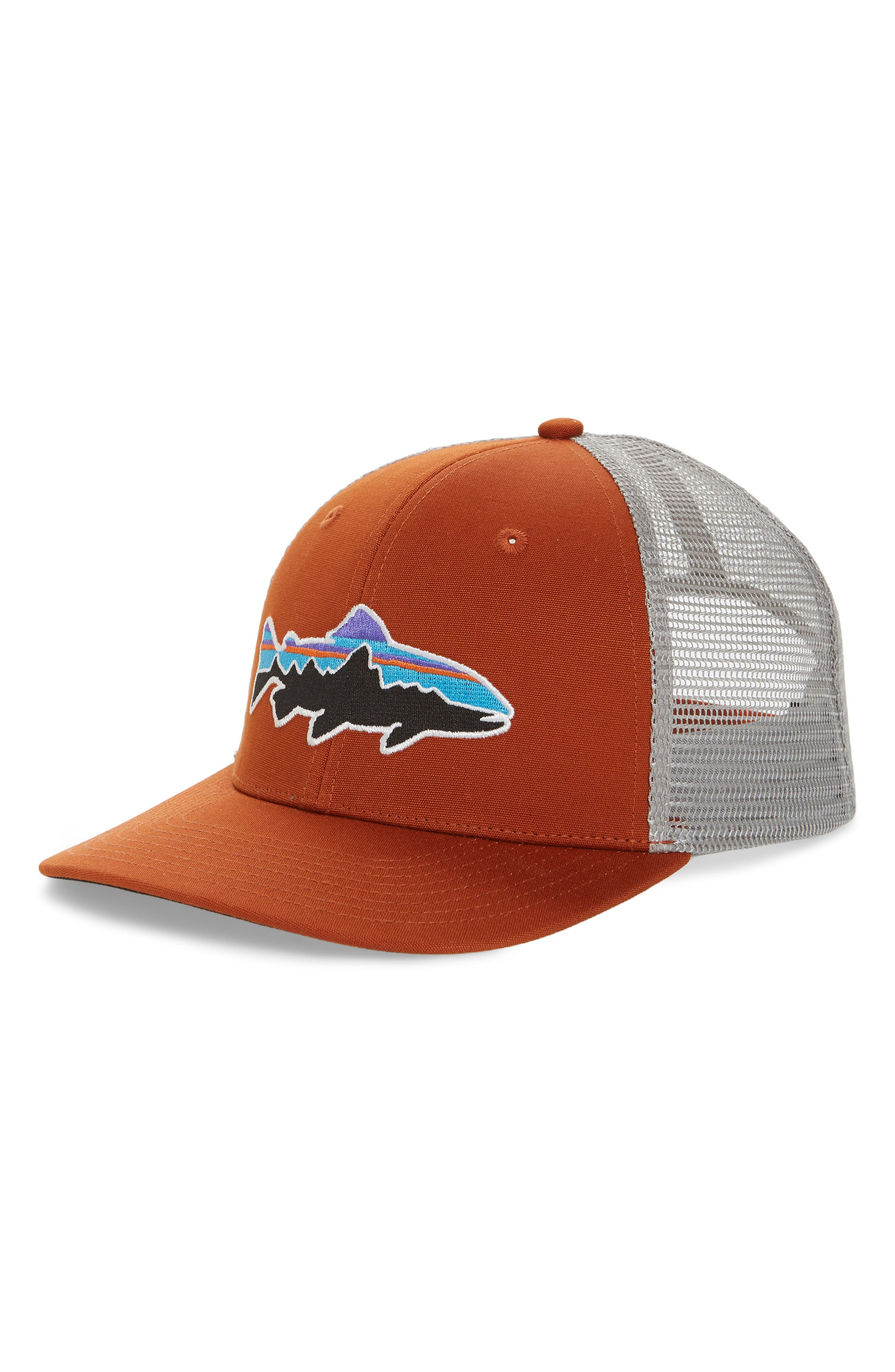 Patagonia 'Fitz Roy - Trout' Trucker Hat