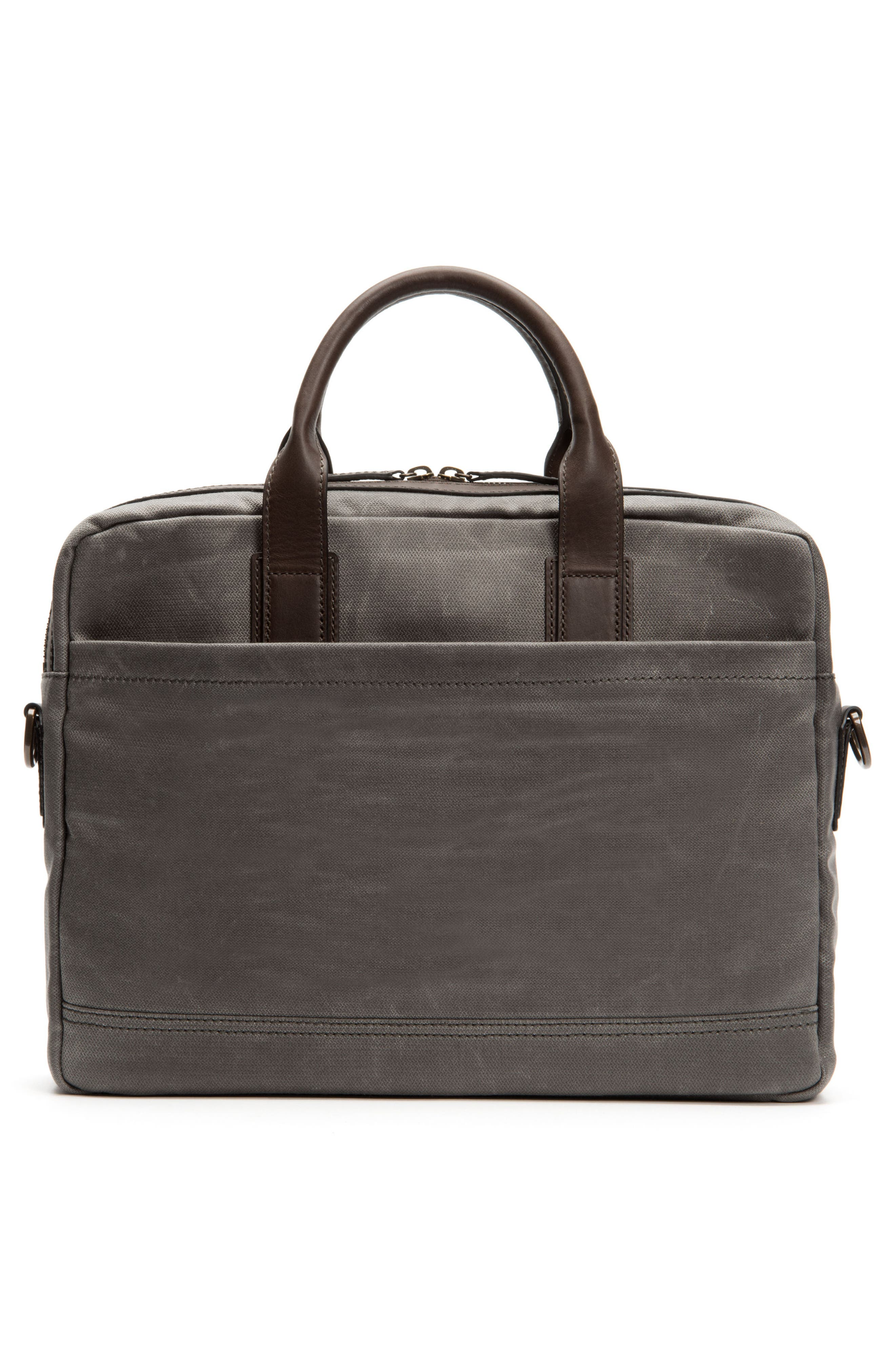 Carter Slim Briefcase,                             Alternate thumbnail 3, color,                             Slate