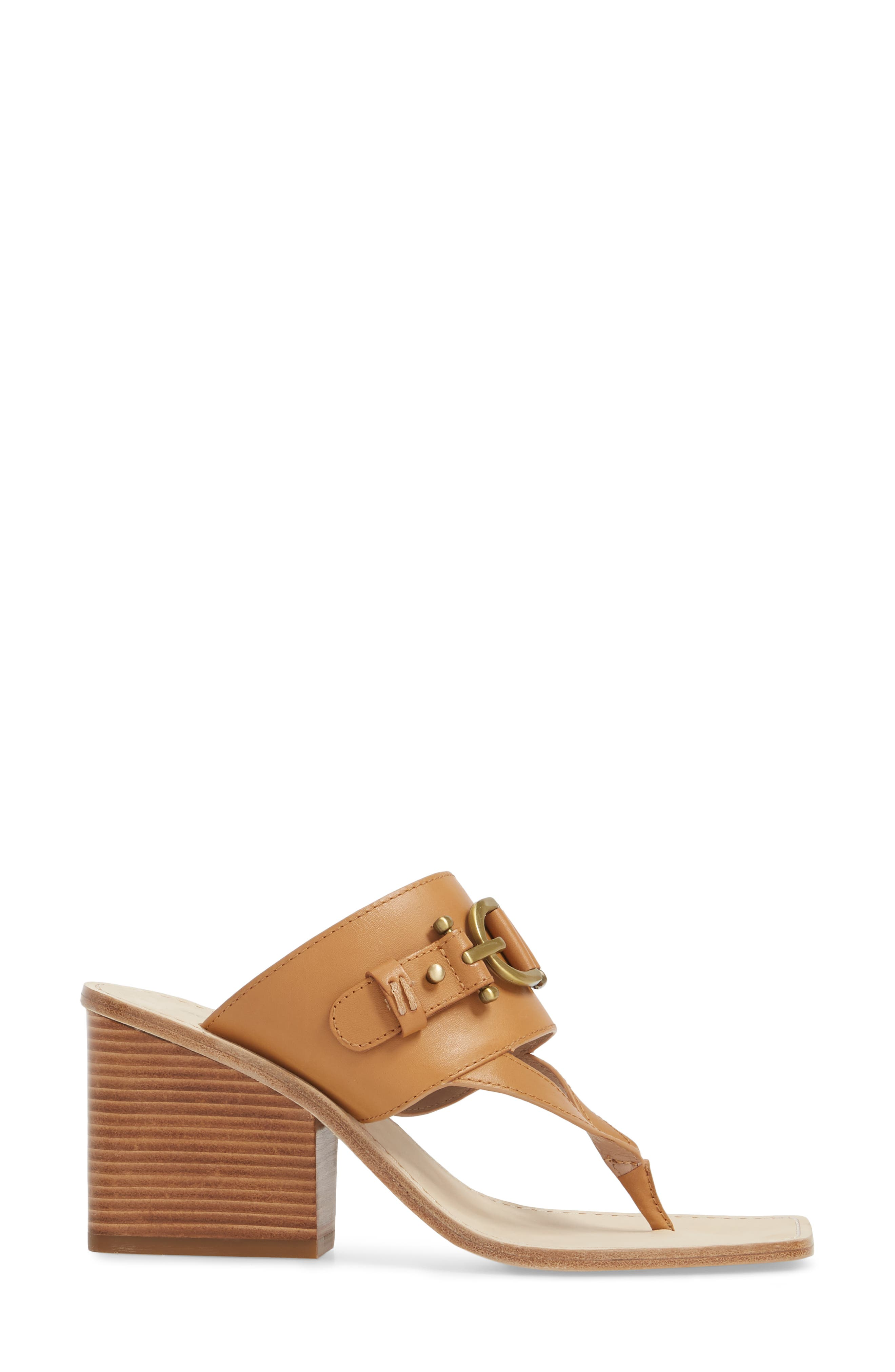 Mimi Mule,                             Alternate thumbnail 3, color,                             Fawn Leather