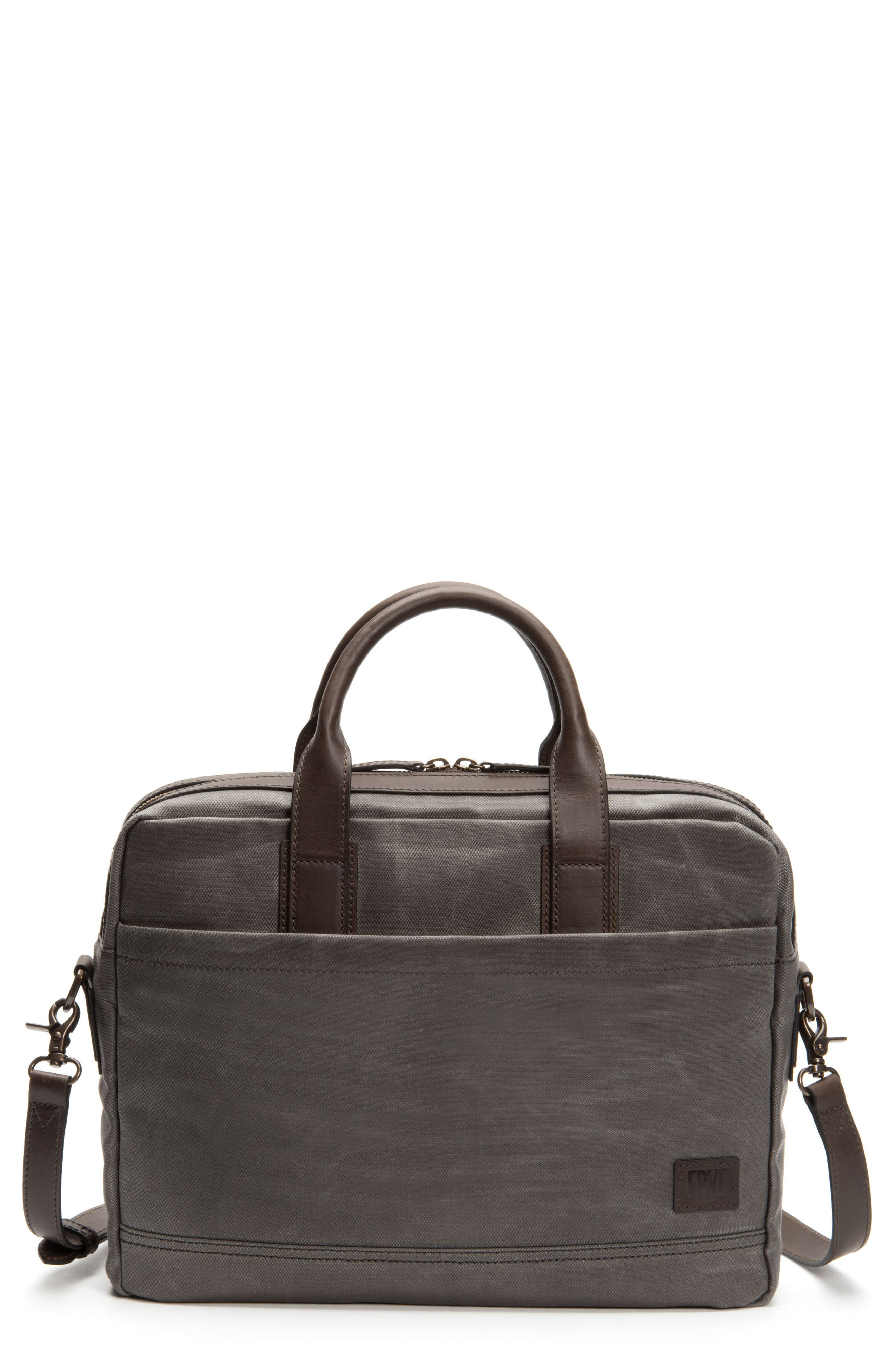 Carter Slim Briefcase,                         Main,                         color, Slate