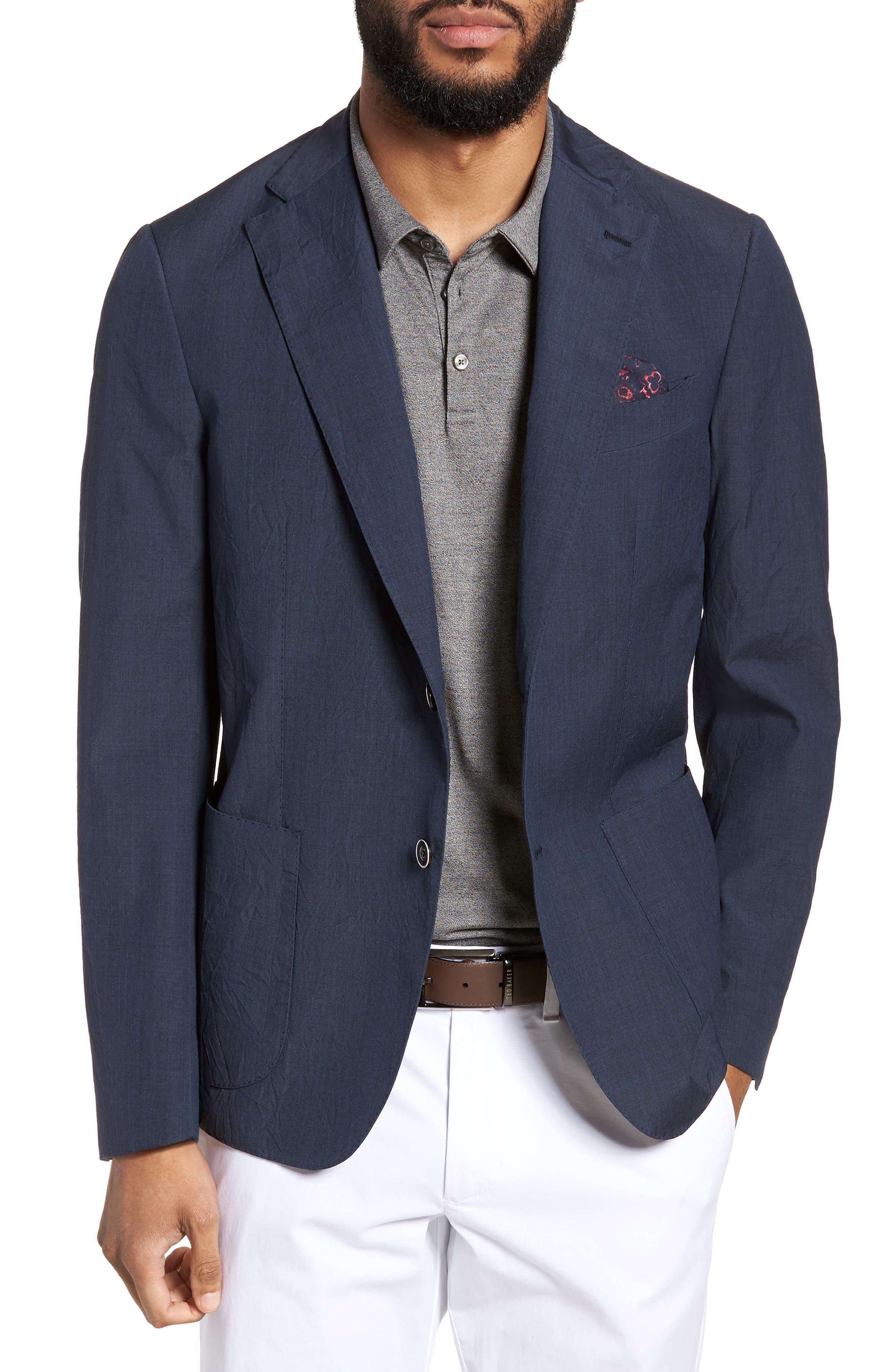 Culturata Trim Fit Wool Sport Coat