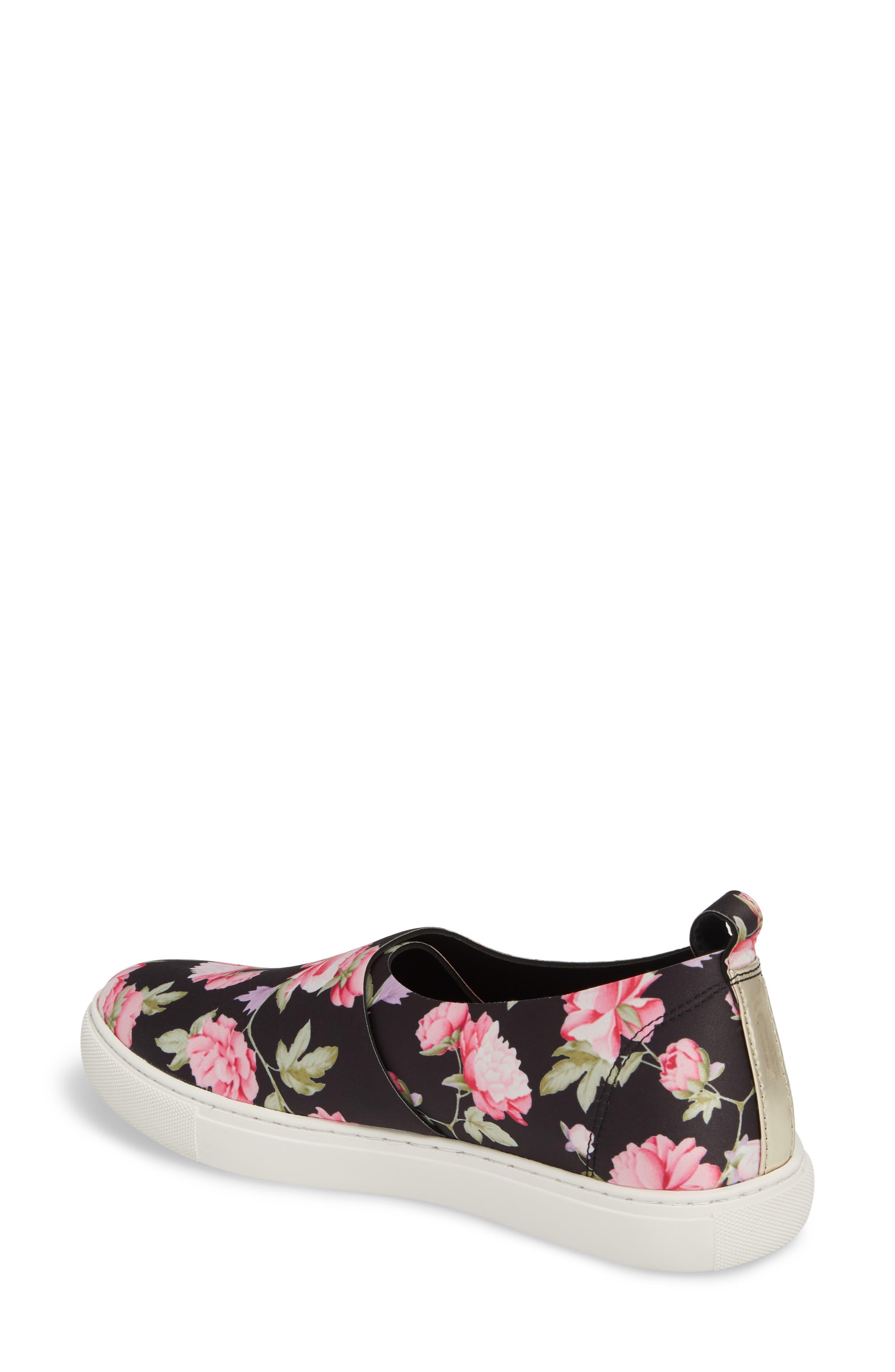 Kathy Slip-On Sneaker,                             Alternate thumbnail 2, color,                             Pink Multi