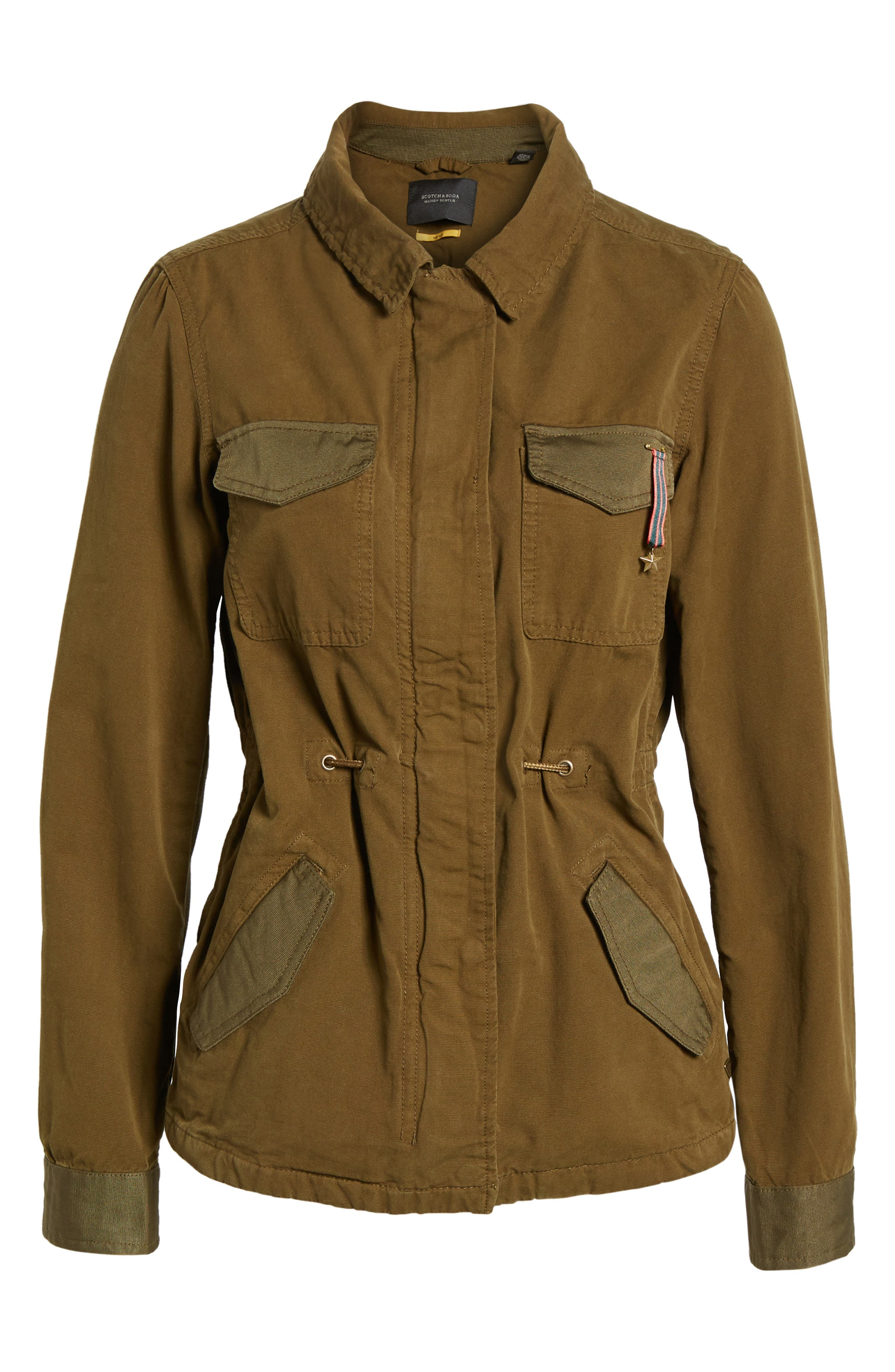 Safari Jacket,                             Alternate thumbnail 7, color,                             Color 15 Army