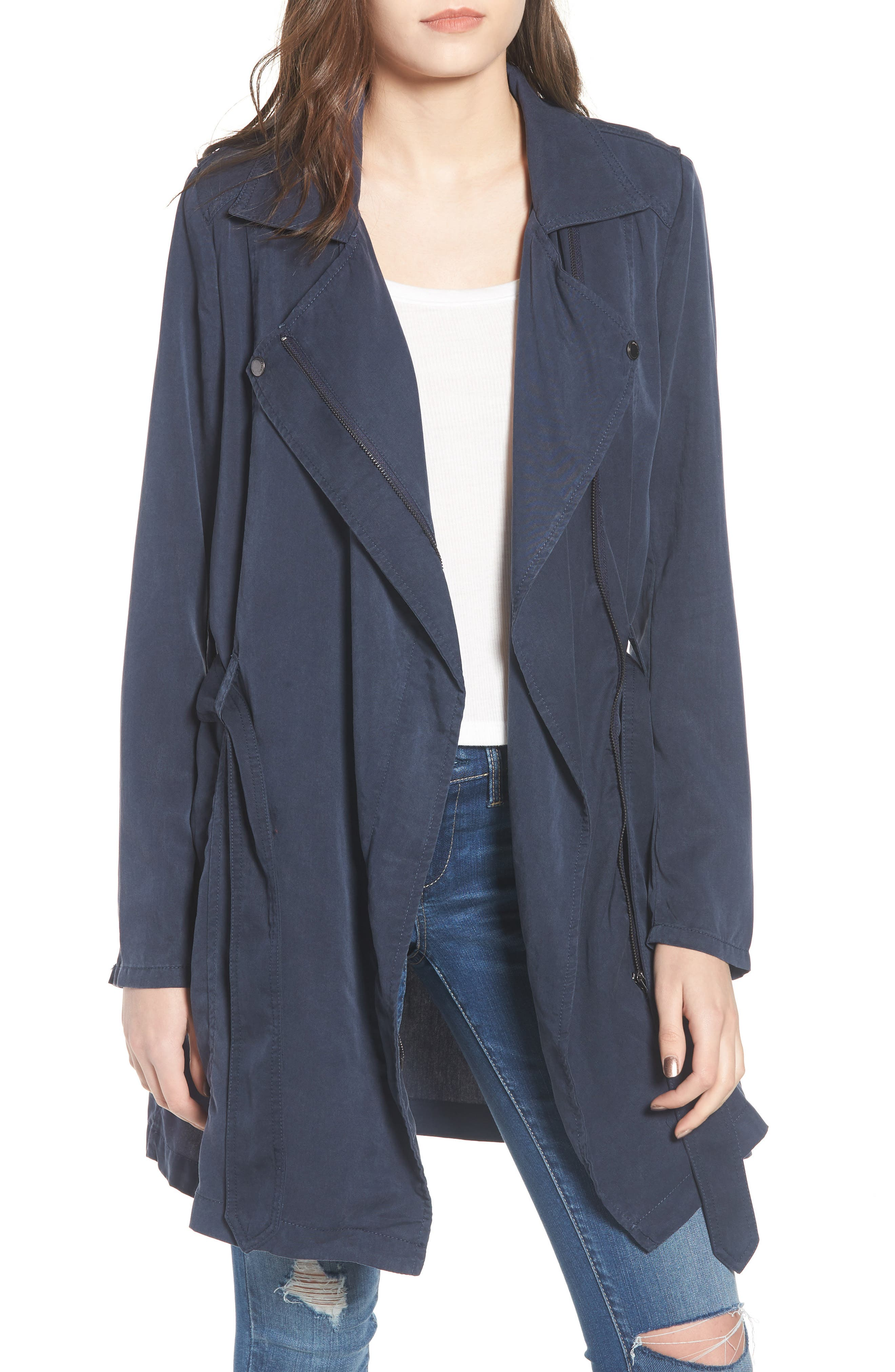 Main Image - BLANKNYC Tencel® Trench Coat