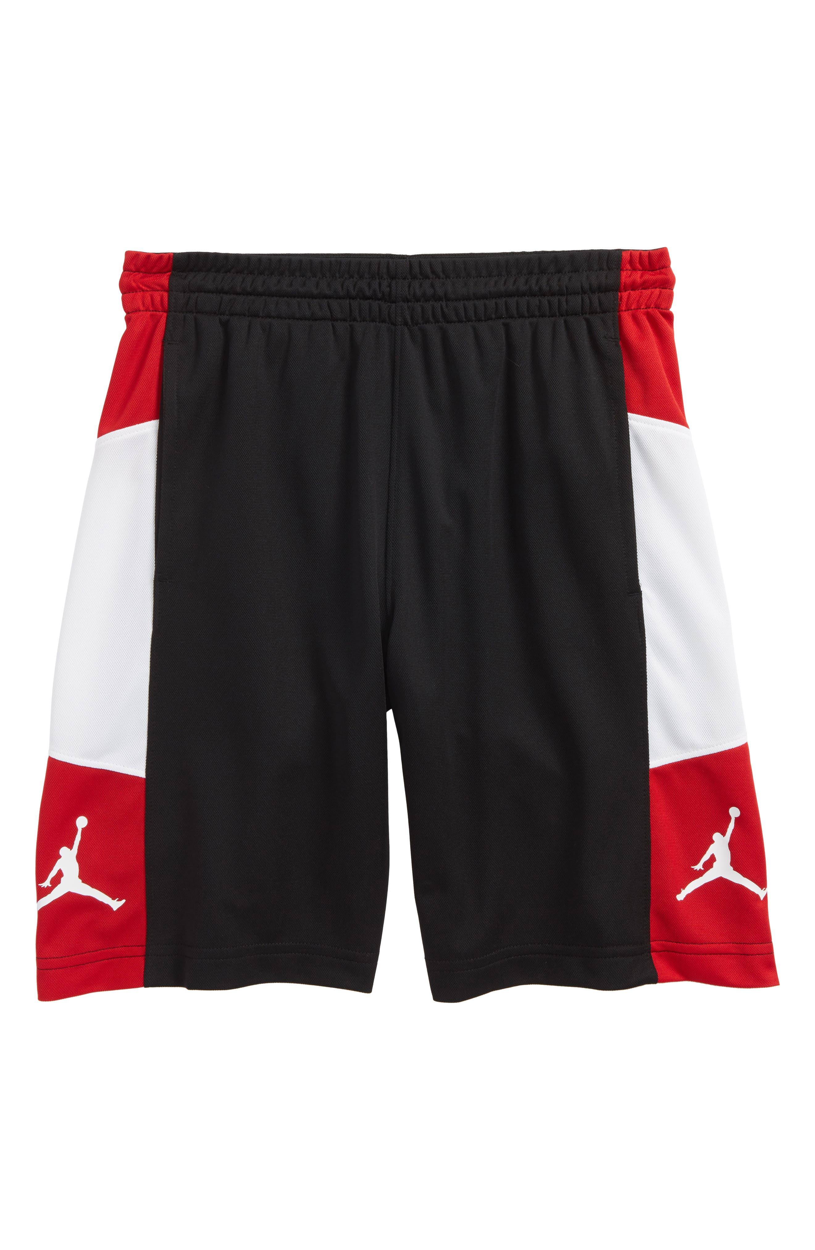 Jordan Elevate Shorts,                             Main thumbnail 1, color,                             Black