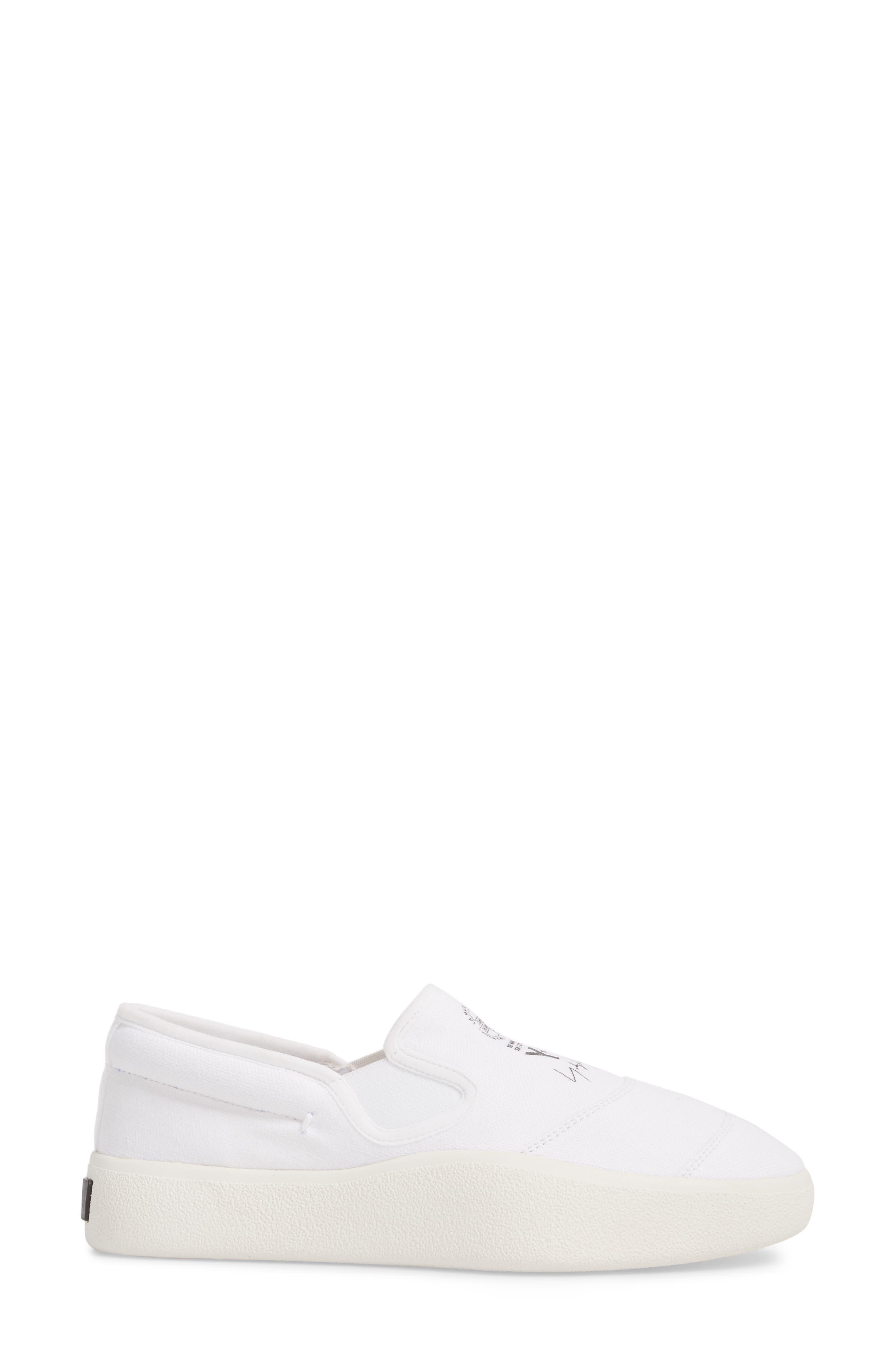 Tangutsu Slip-On Sneaker,                             Alternate thumbnail 3, color,                             White / Black / Core White