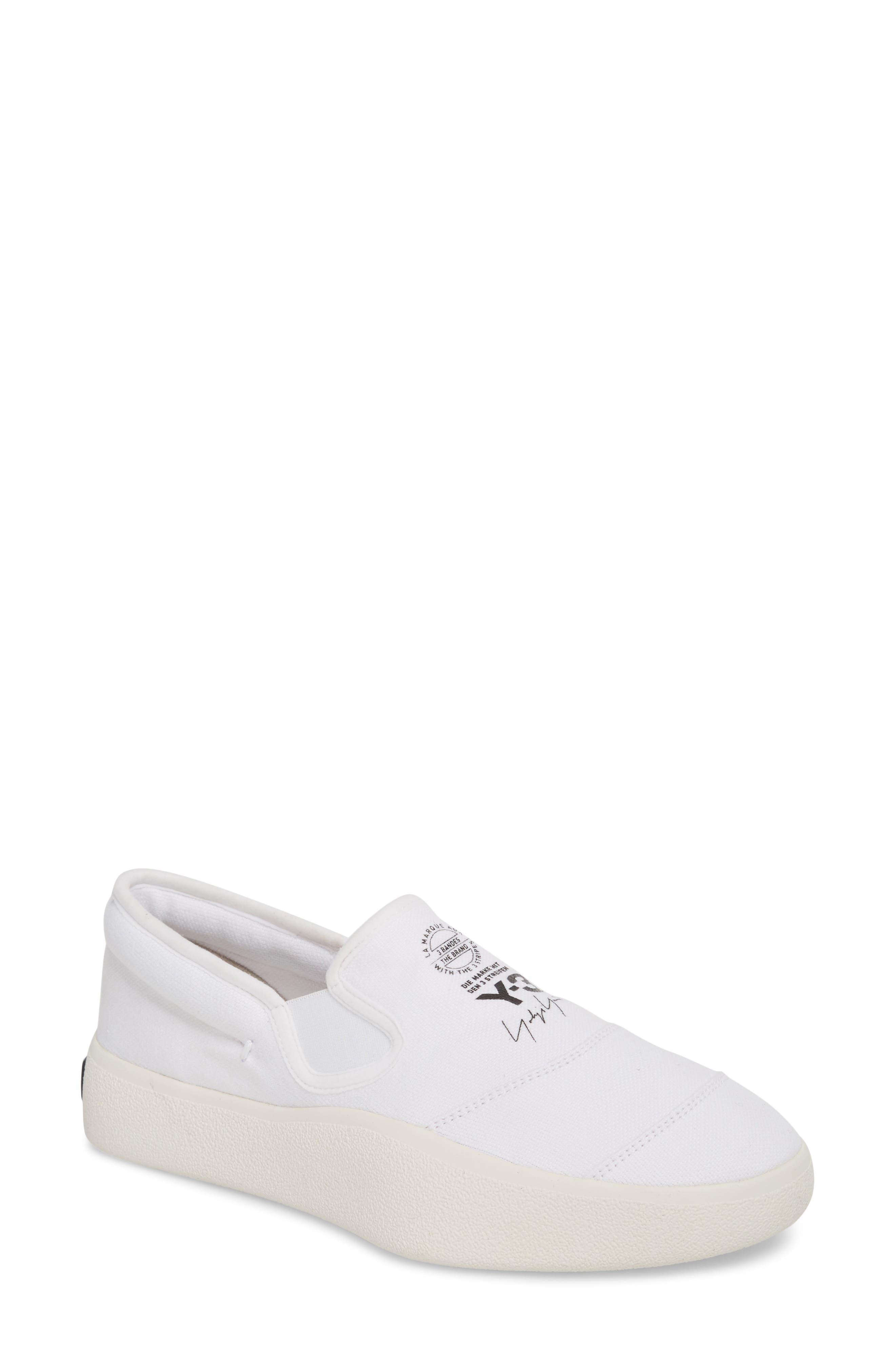 Tangutsu Slip-On Sneaker,                             Main thumbnail 1, color,                             White / Black / Core White