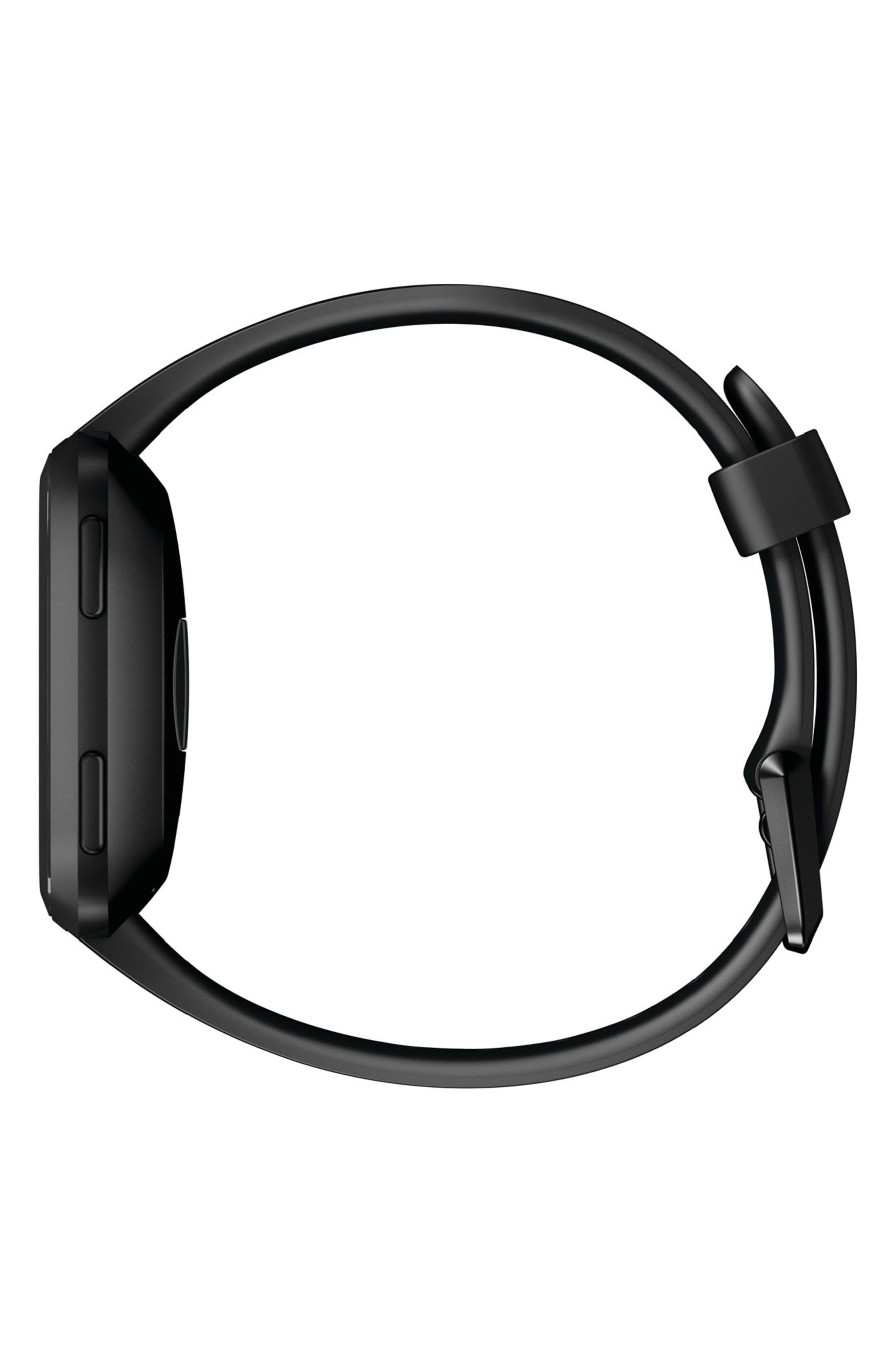 Versa Smart Watch,                             Alternate thumbnail 3, color,                             Black / Black