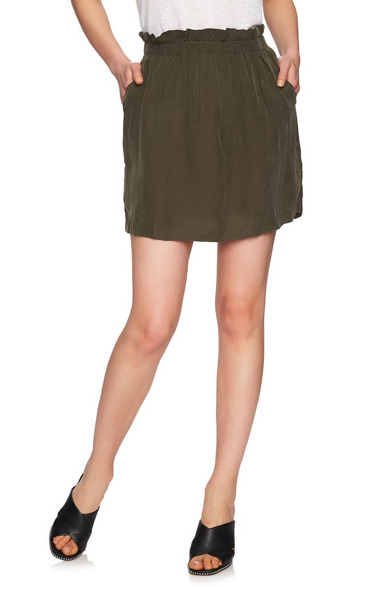 Paperbag Miniskirt