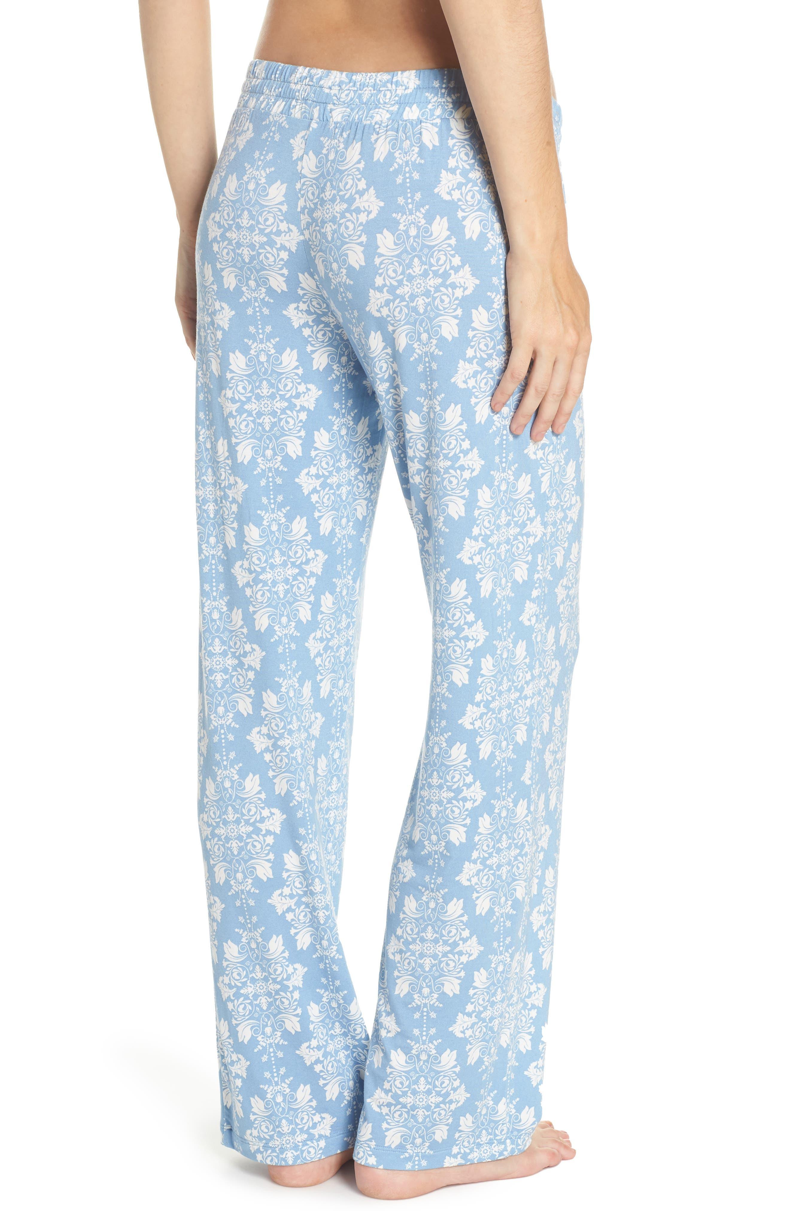 Jersey Pajama Pants,                             Alternate thumbnail 2, color,                             Blue