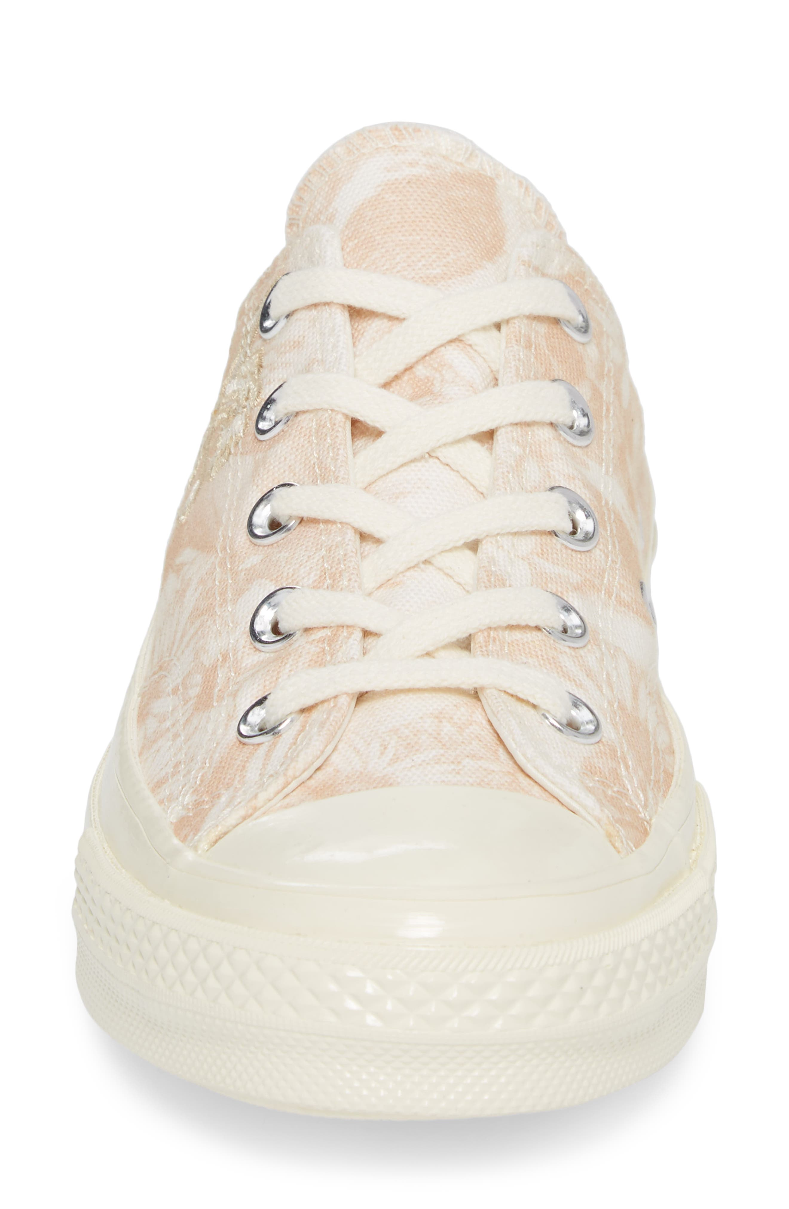 Chuck Taylor<sup>®</sup> All Star<sup>®</sup> 70 Spring Forward Sneaker,                             Alternate thumbnail 4, color,                             Egret/ Egret