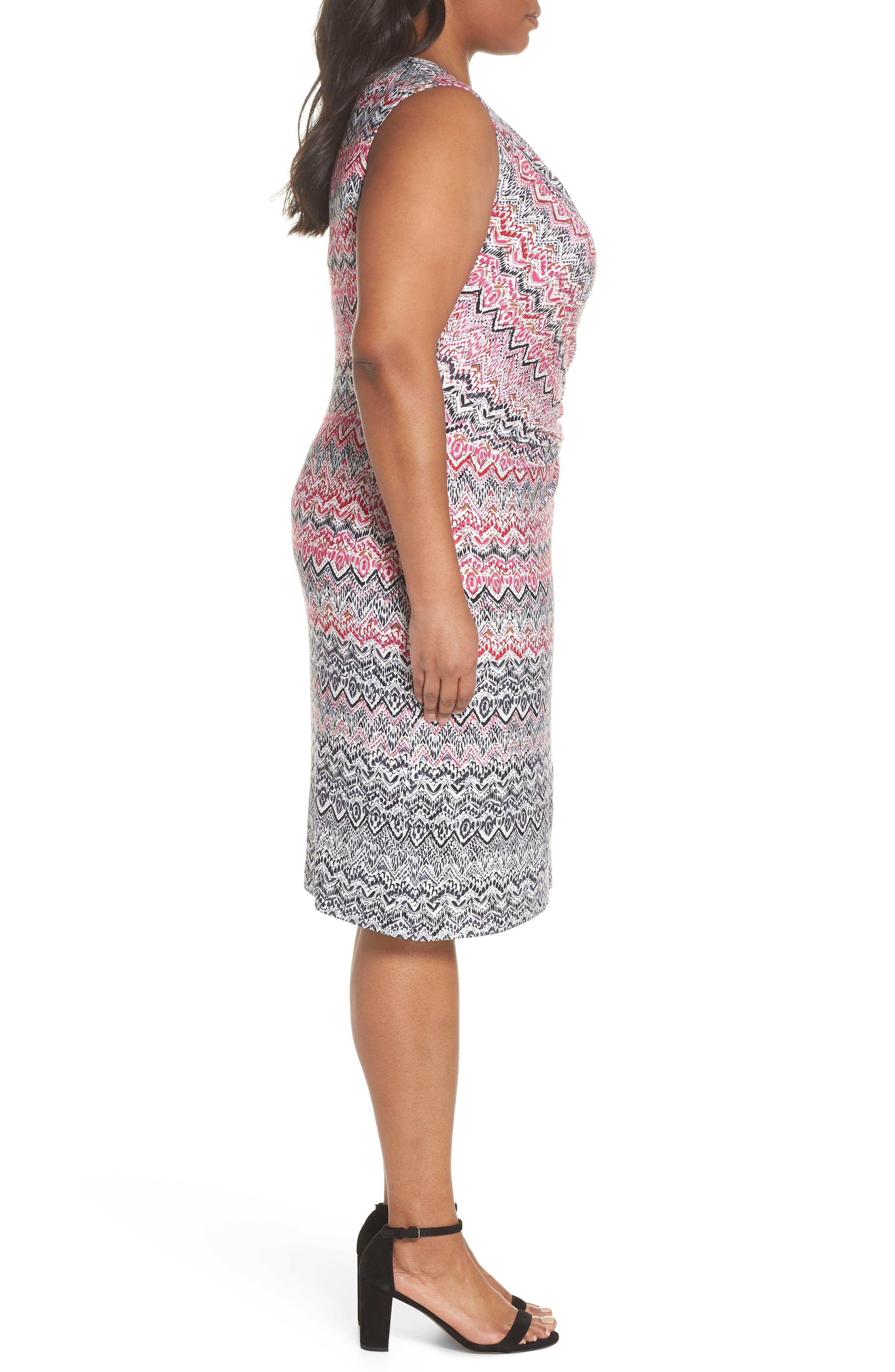 Alternate Image 3  - NIC+ZOE Spiced Up Twist Sheath Dress (Plus Size)