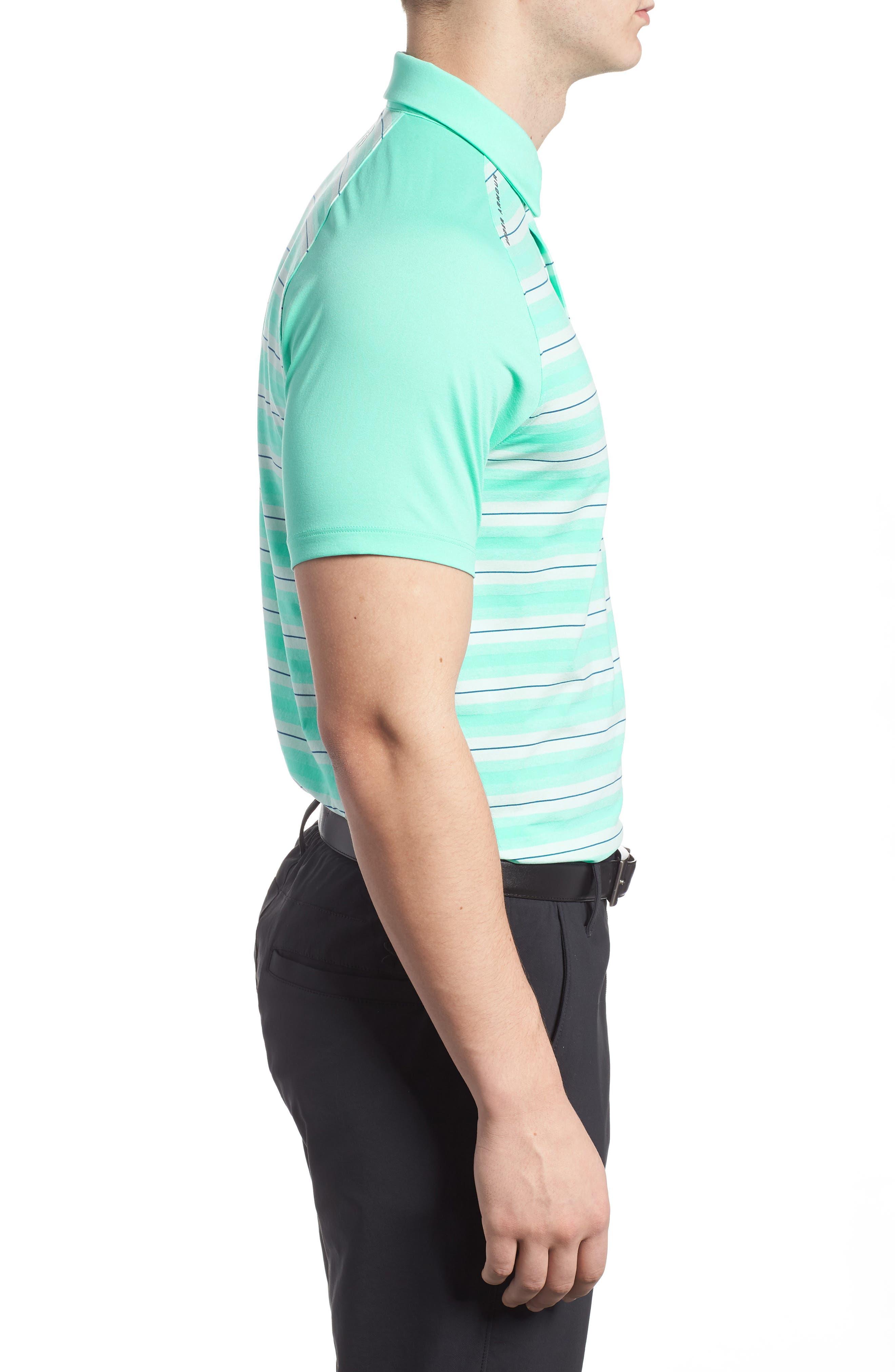 Alternate Image 3  - Under Armour Threadborne Boundless Regular Fit Polo Shirt