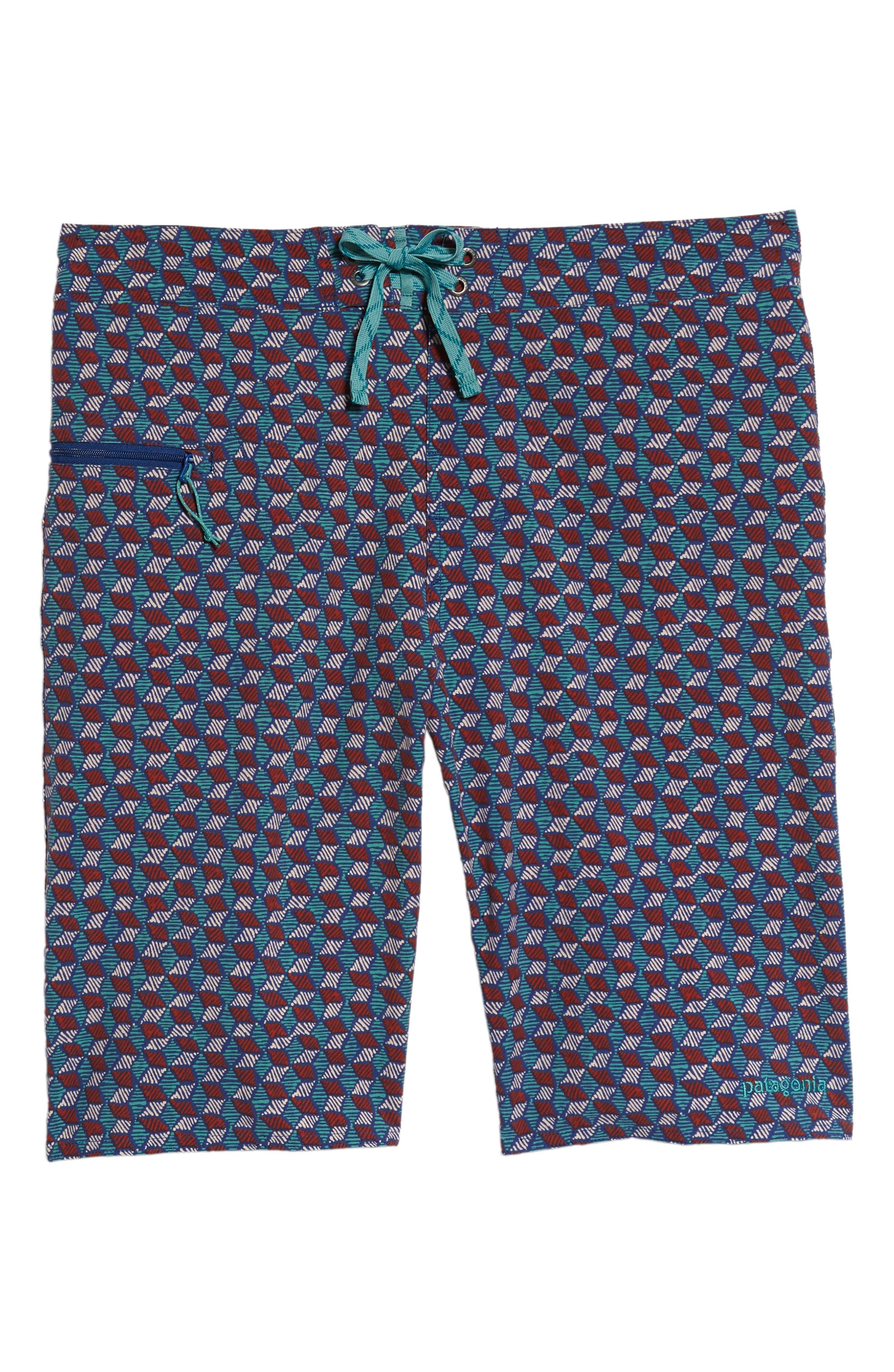 Wavefarer Board Shorts,                             Alternate thumbnail 6, color,                             Superior Blue