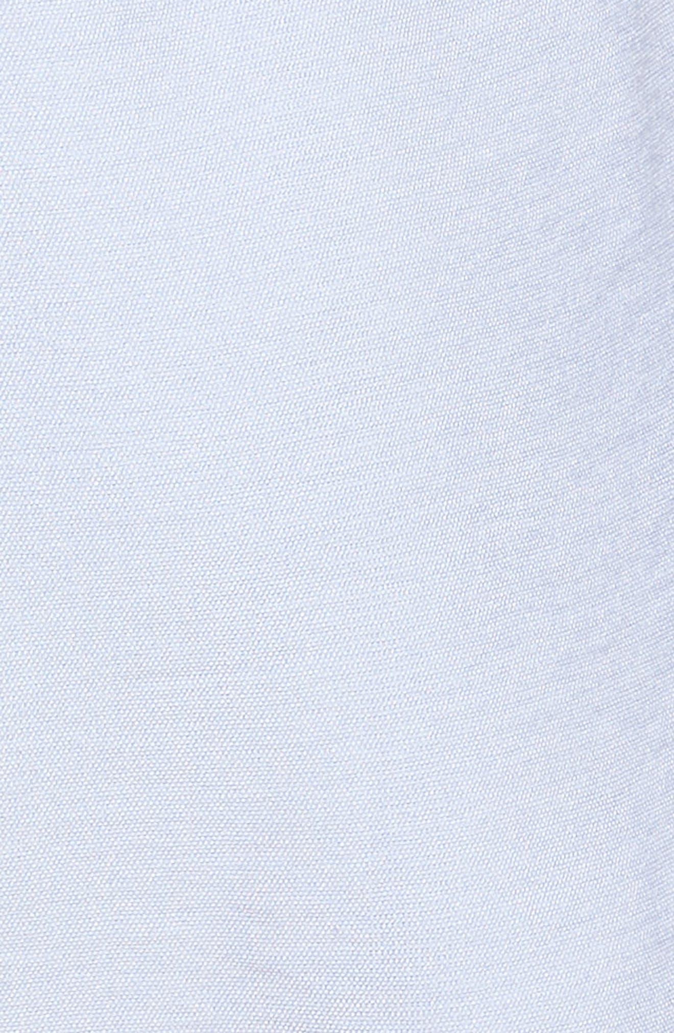 Tie Sleeve V-Neck Romper,                             Alternate thumbnail 7, color,                             Blue
