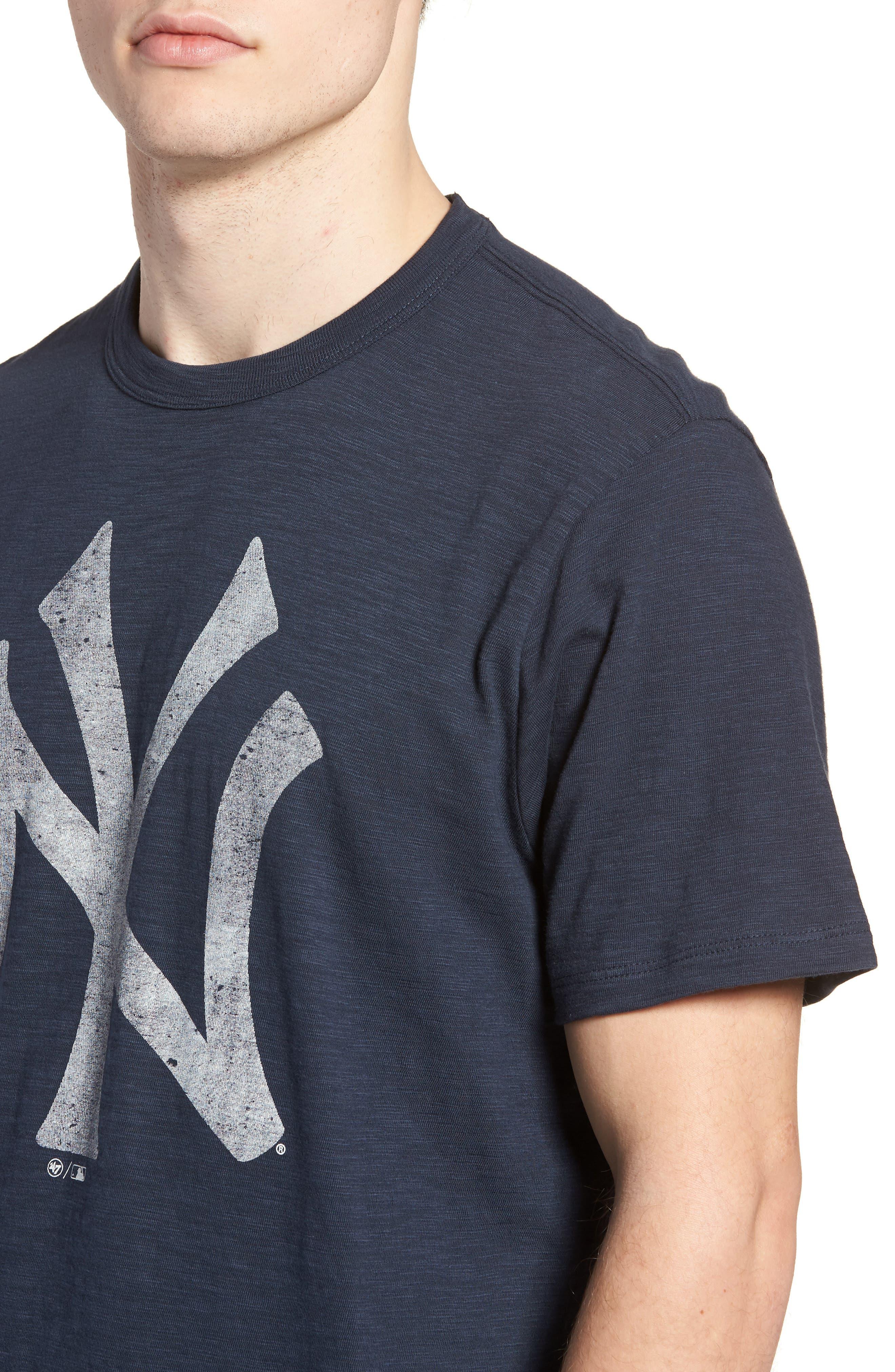 MLB Grit Scrum New York Yankees T-Shirt,                             Alternate thumbnail 4, color,                             Midnight