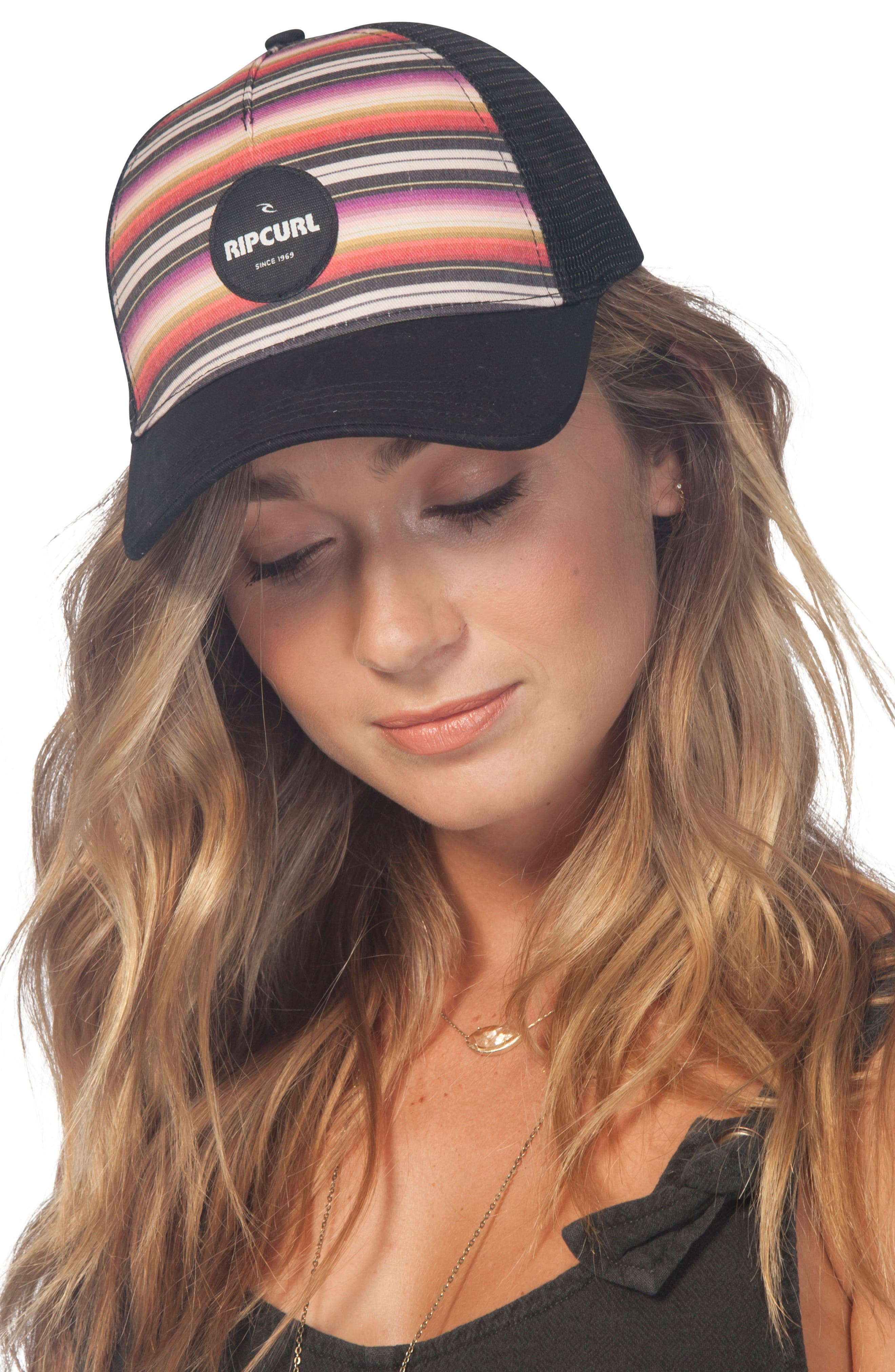 Sayulita Trucker Hat,                             Alternate thumbnail 2, color,