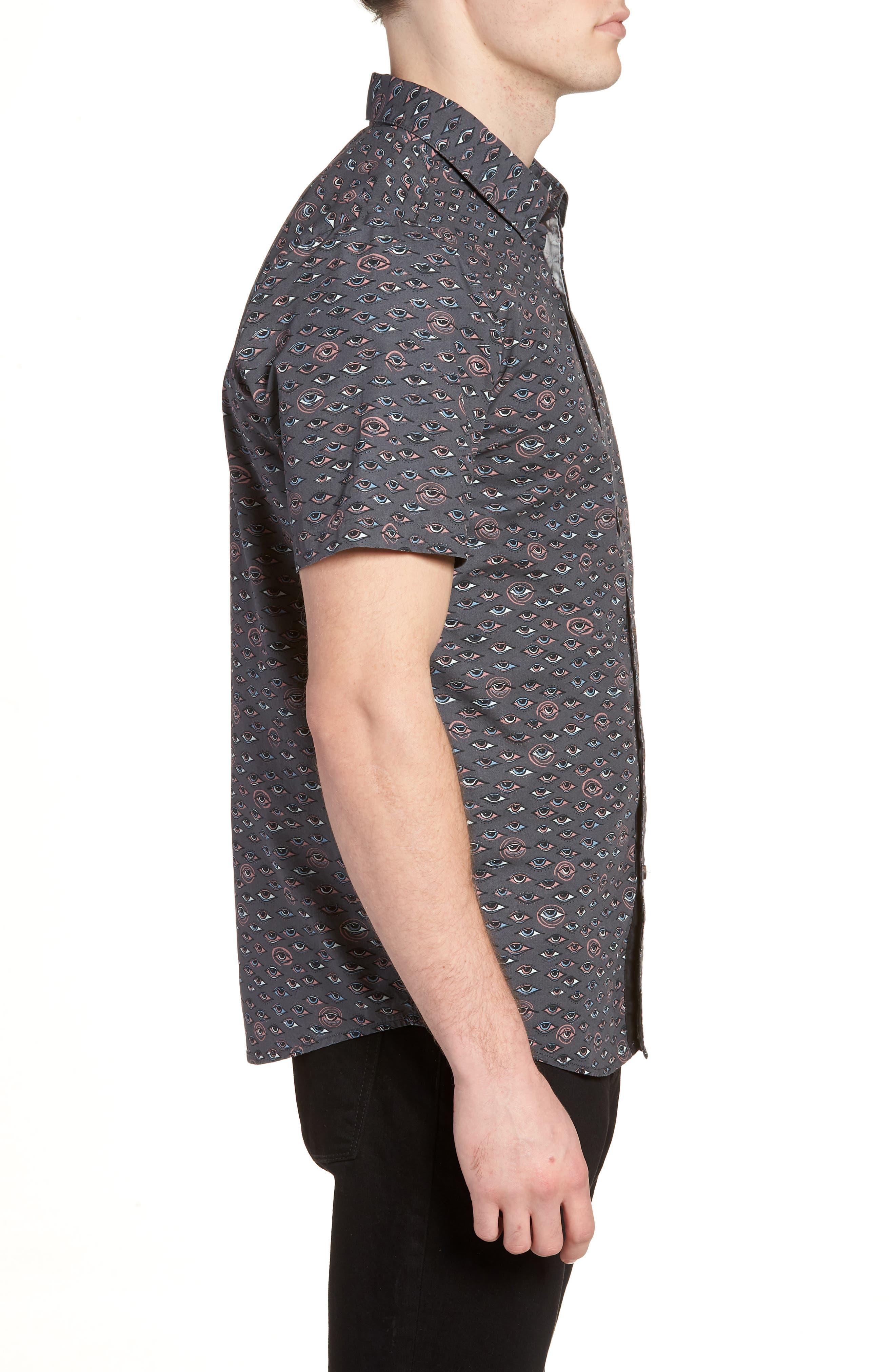 Alternate Image 3  - Volcom Burch Woven Shirt