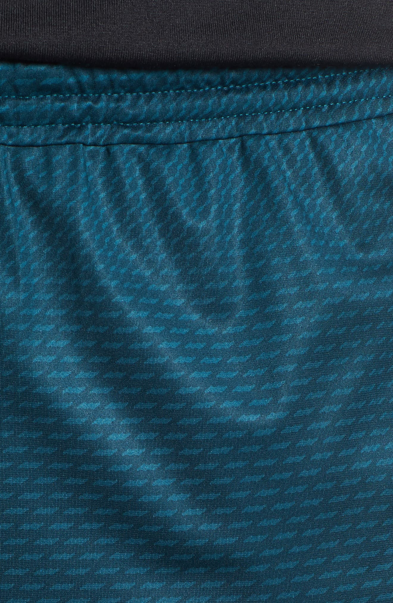 Raid 2.0 Classic Fit Shorts,                             Alternate thumbnail 4, color,                             Tourmaline Teal/ Stealth Gray