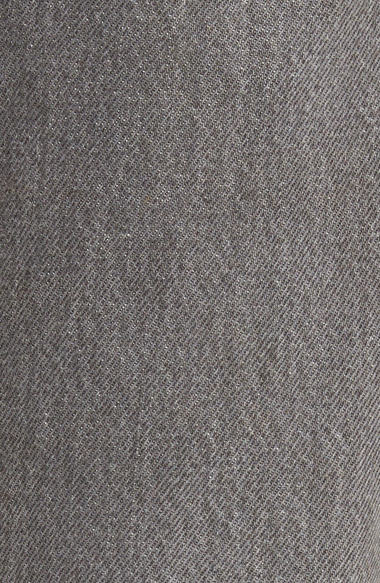 Authorized Vintage 501<sup>™</sup> Tapered Slim Fit Jeans,                             Alternate thumbnail 5, color,                             Av Black