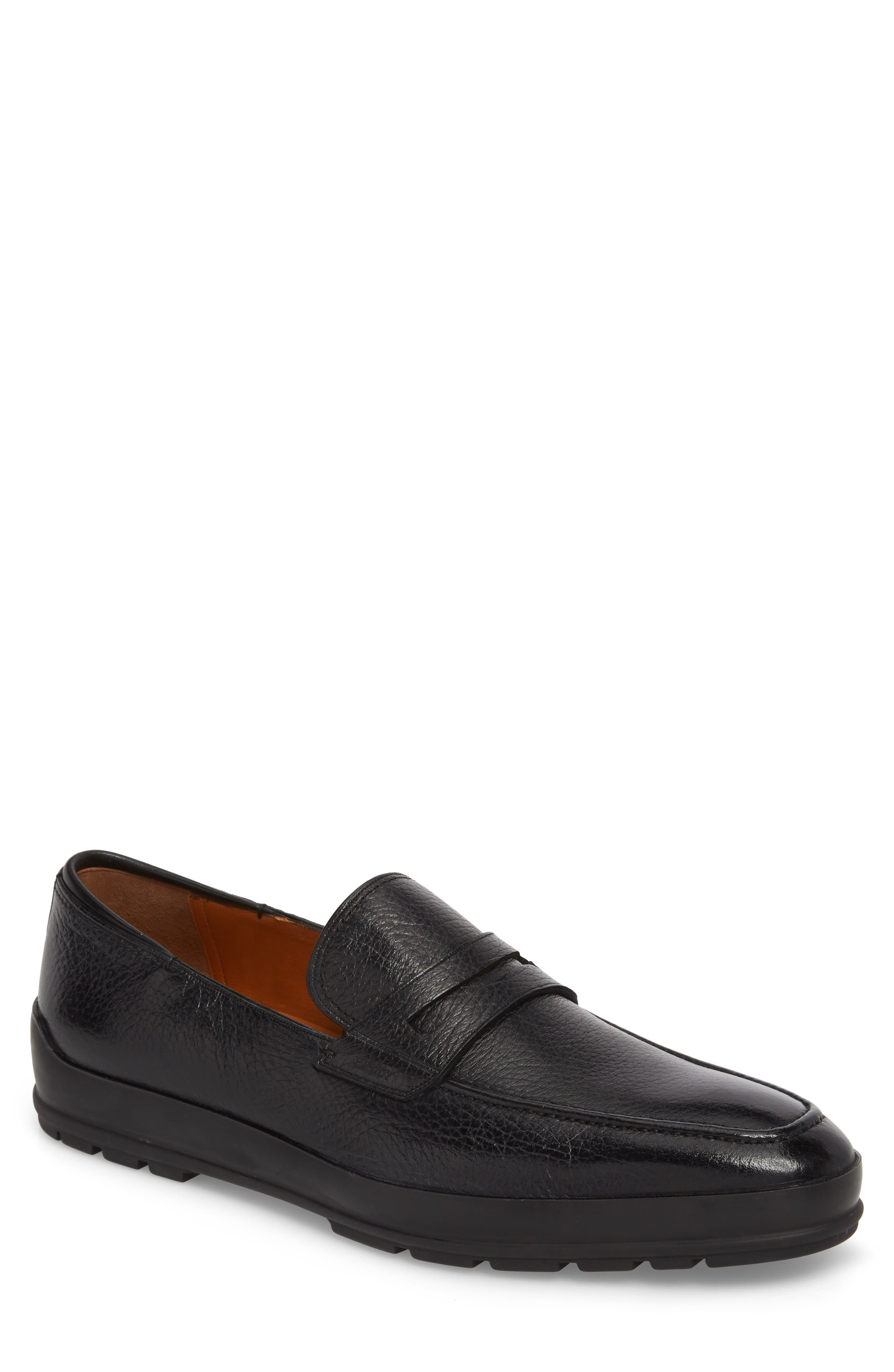 Relon Hybrid Penny Loafer,                             Main thumbnail 1, color,                             Black