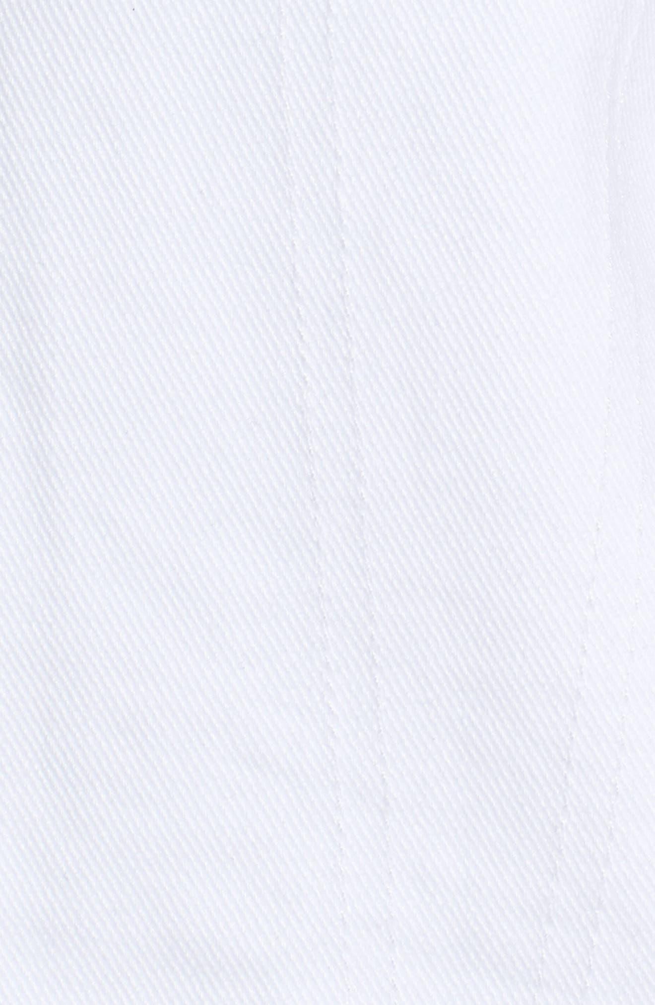 Nico Denim Jacket,                             Alternate thumbnail 6, color,                             White