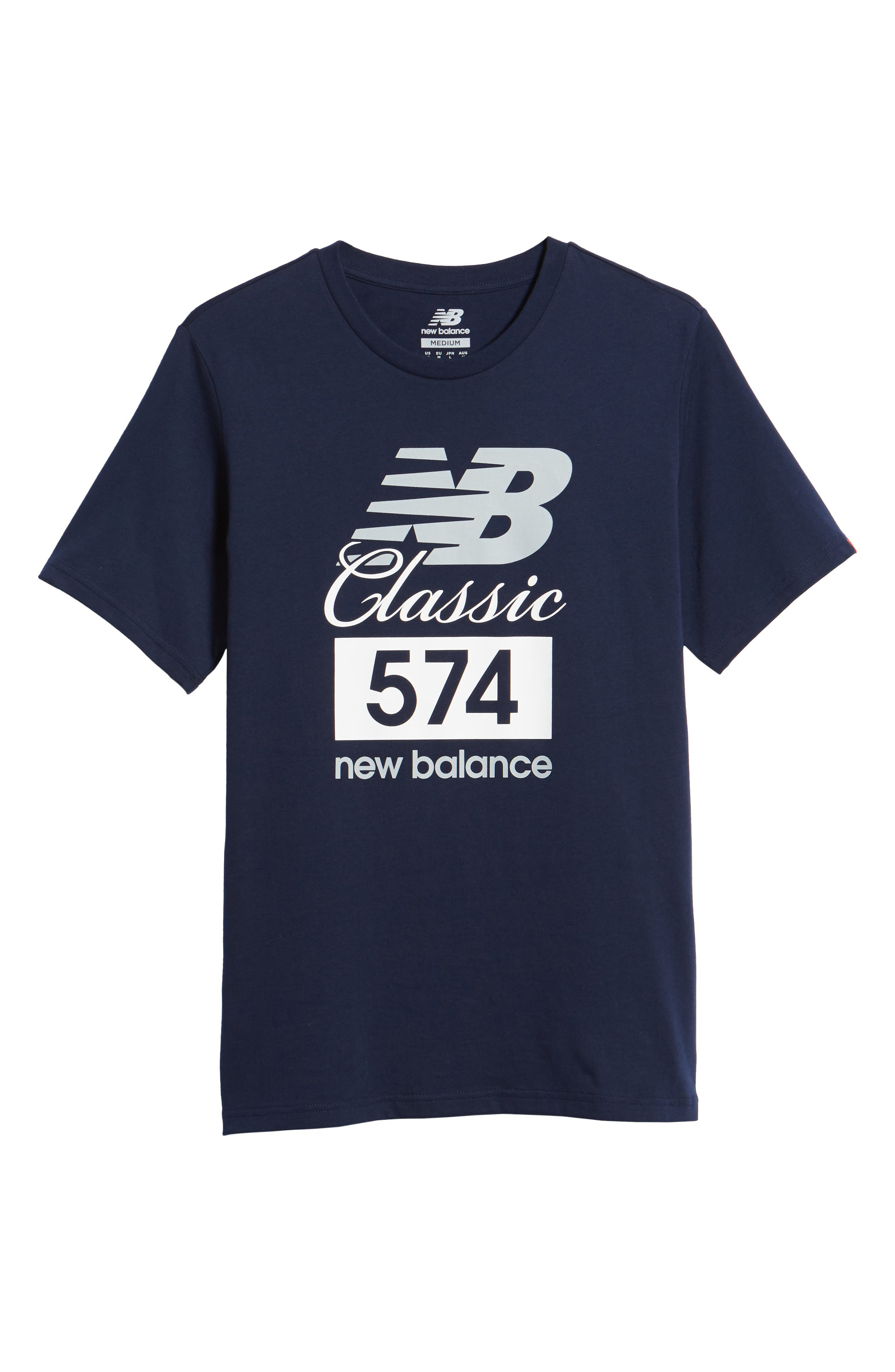 Athletics Classic 574 Crewneck T-Shirt,                             Alternate thumbnail 6, color,                             Pigment