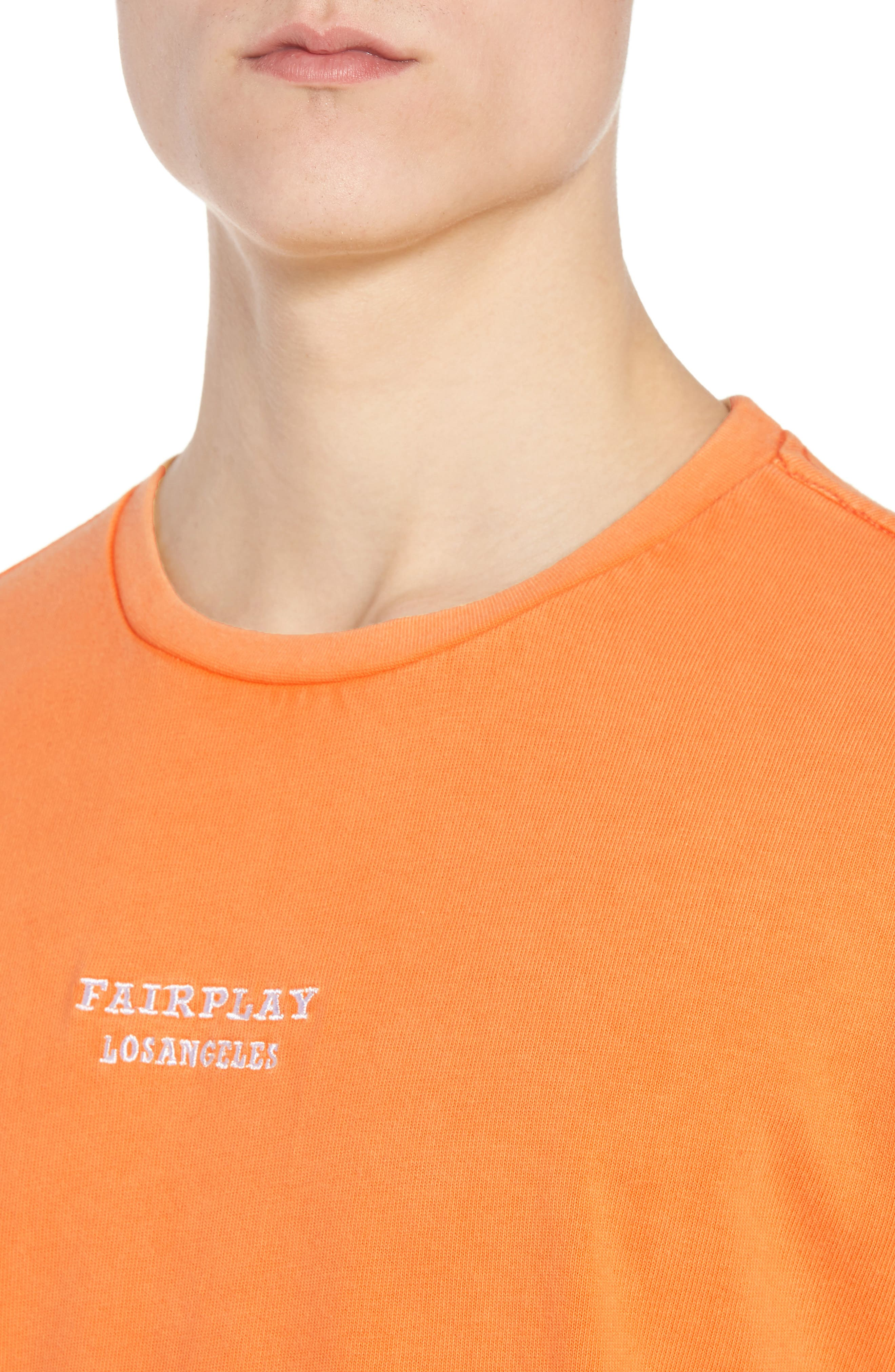 Anderson Sweatshirt,                             Alternate thumbnail 4, color,                             Orange