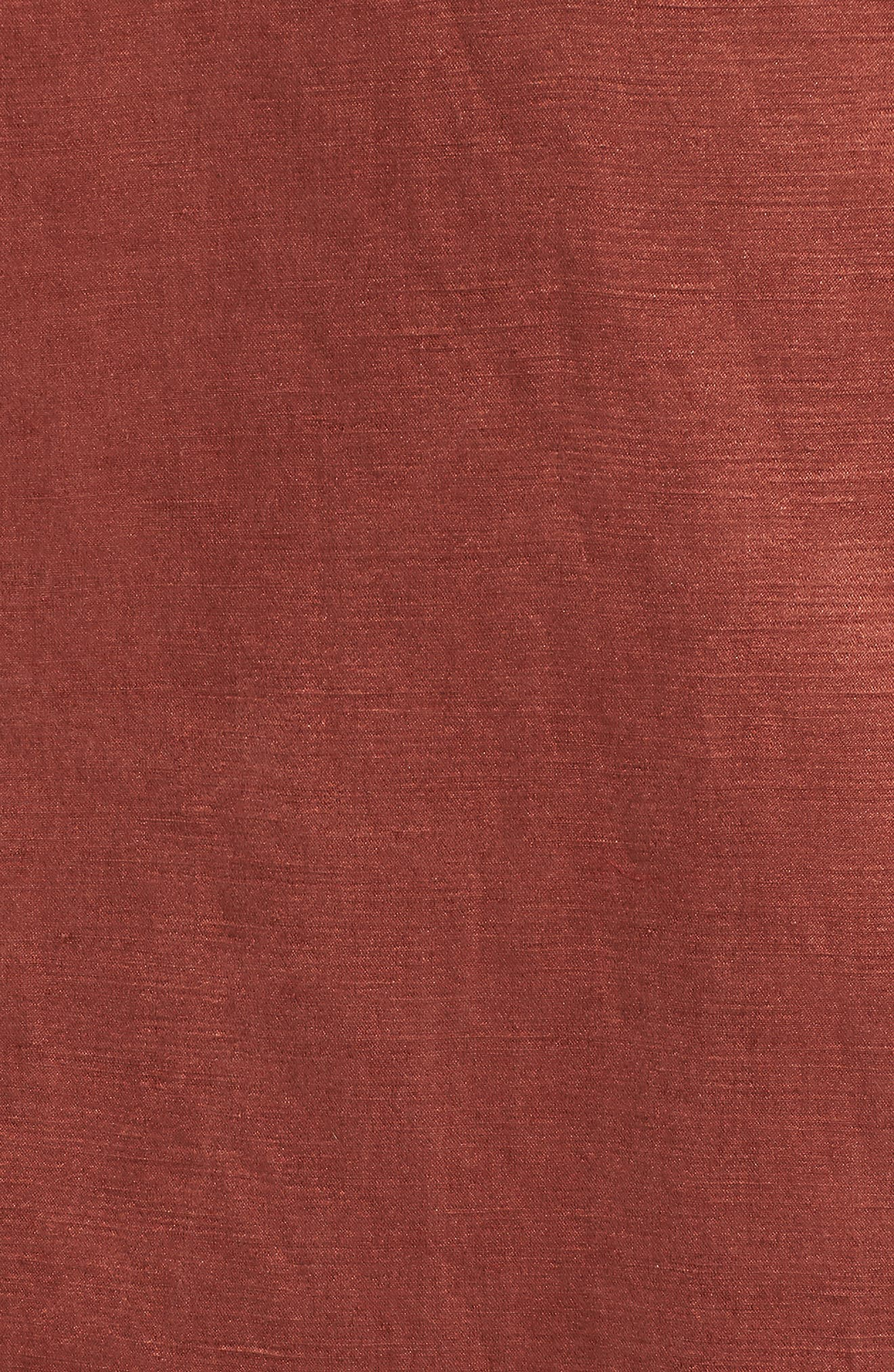 High Collar Long Jacket,                             Alternate thumbnail 6, color,                             Russet