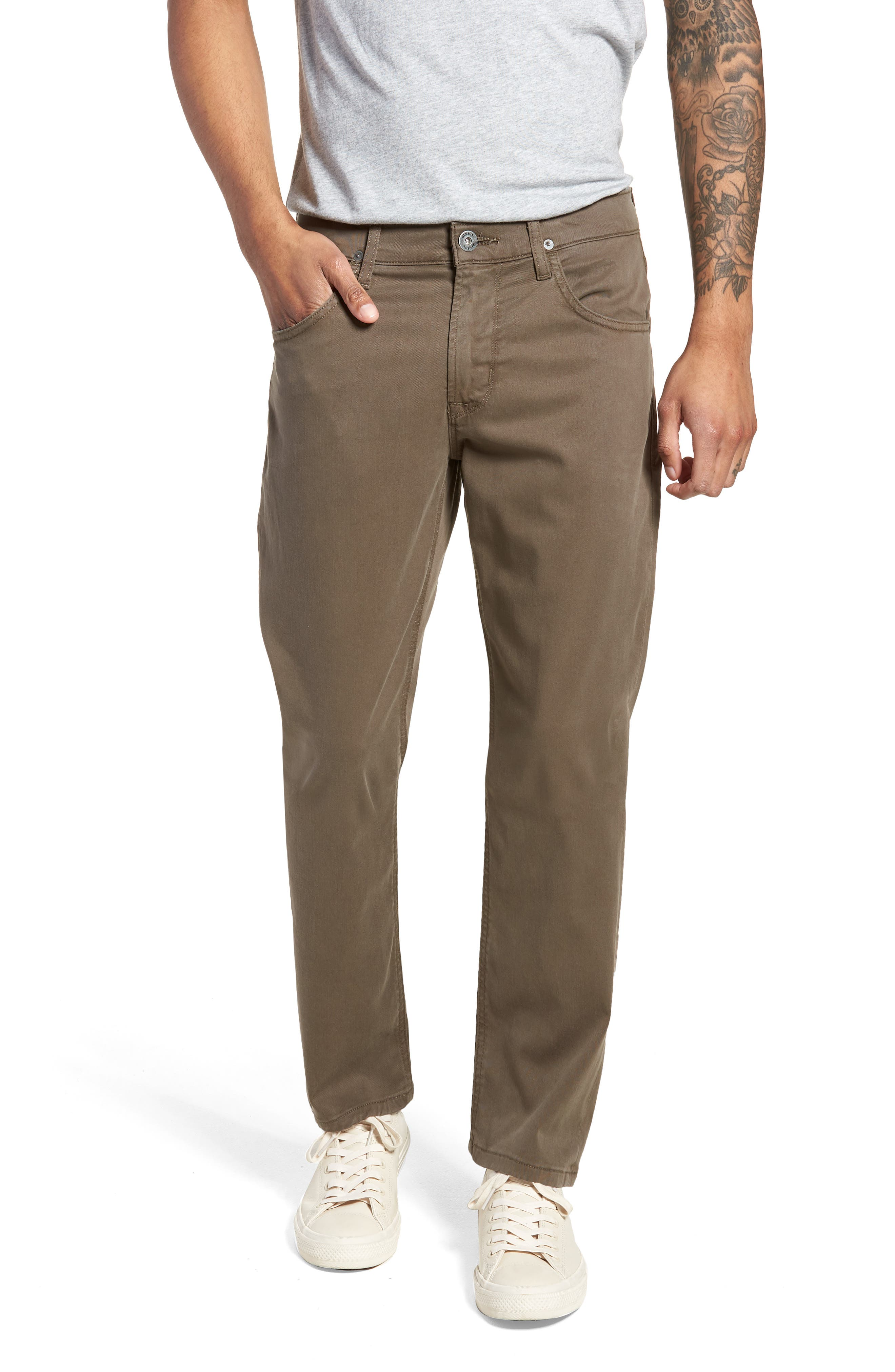 Blake Slim Fit Jeans,                             Main thumbnail 1, color,                             Plaster