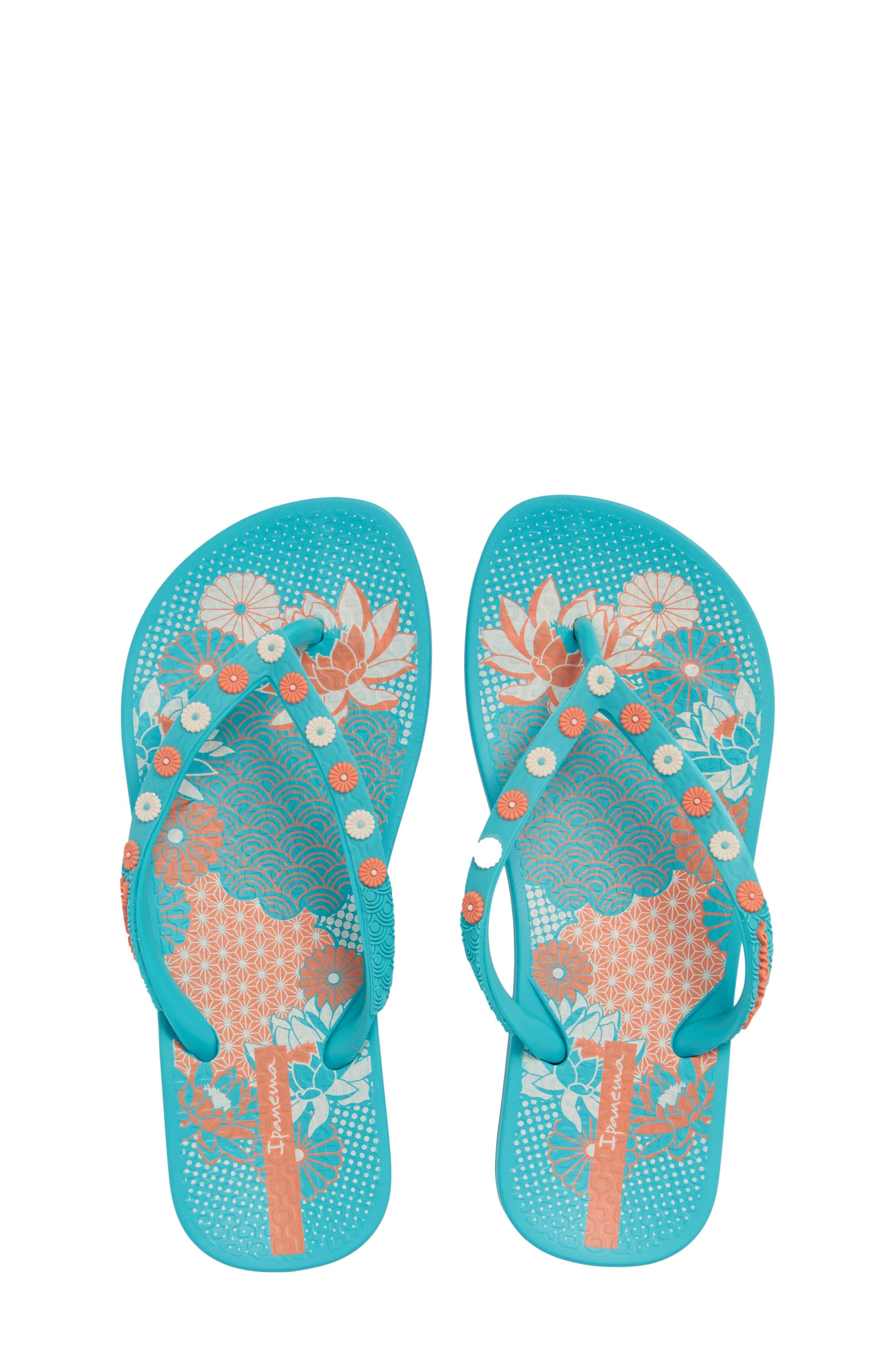 Ana Lovely Flip Flop,                         Main,                         color, Blue