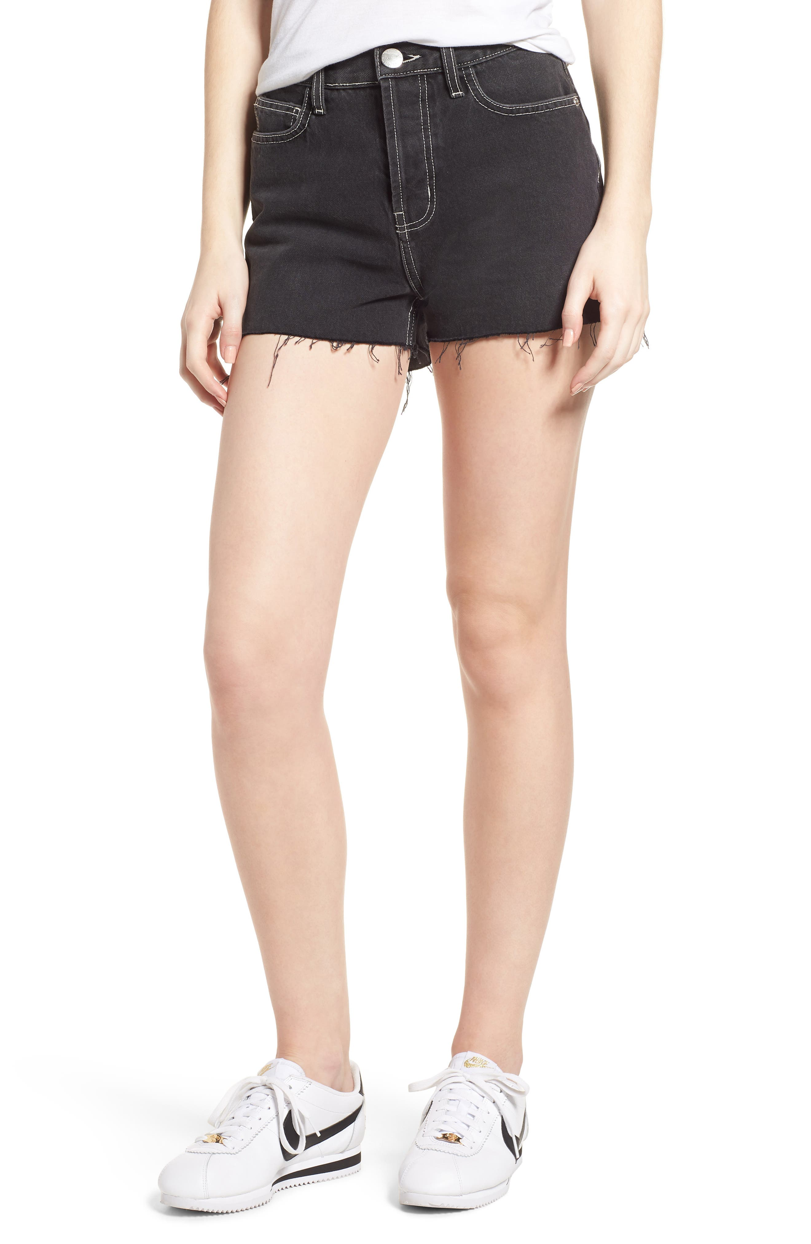 Current/Elliott The Ultra High Waist Denim Shorts (Conary)