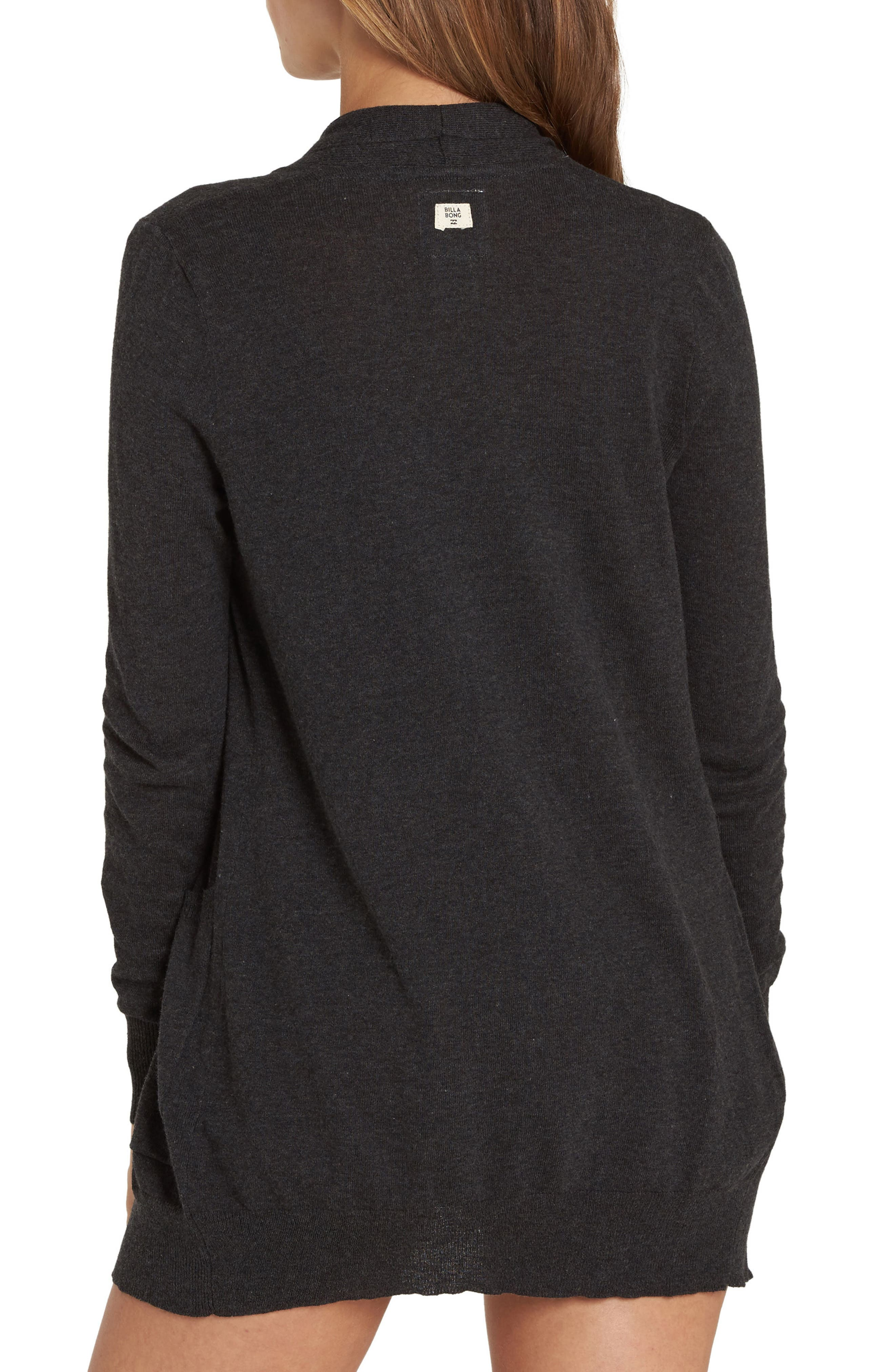 Line Games Sweater,                             Alternate thumbnail 2, color,                             Off Black