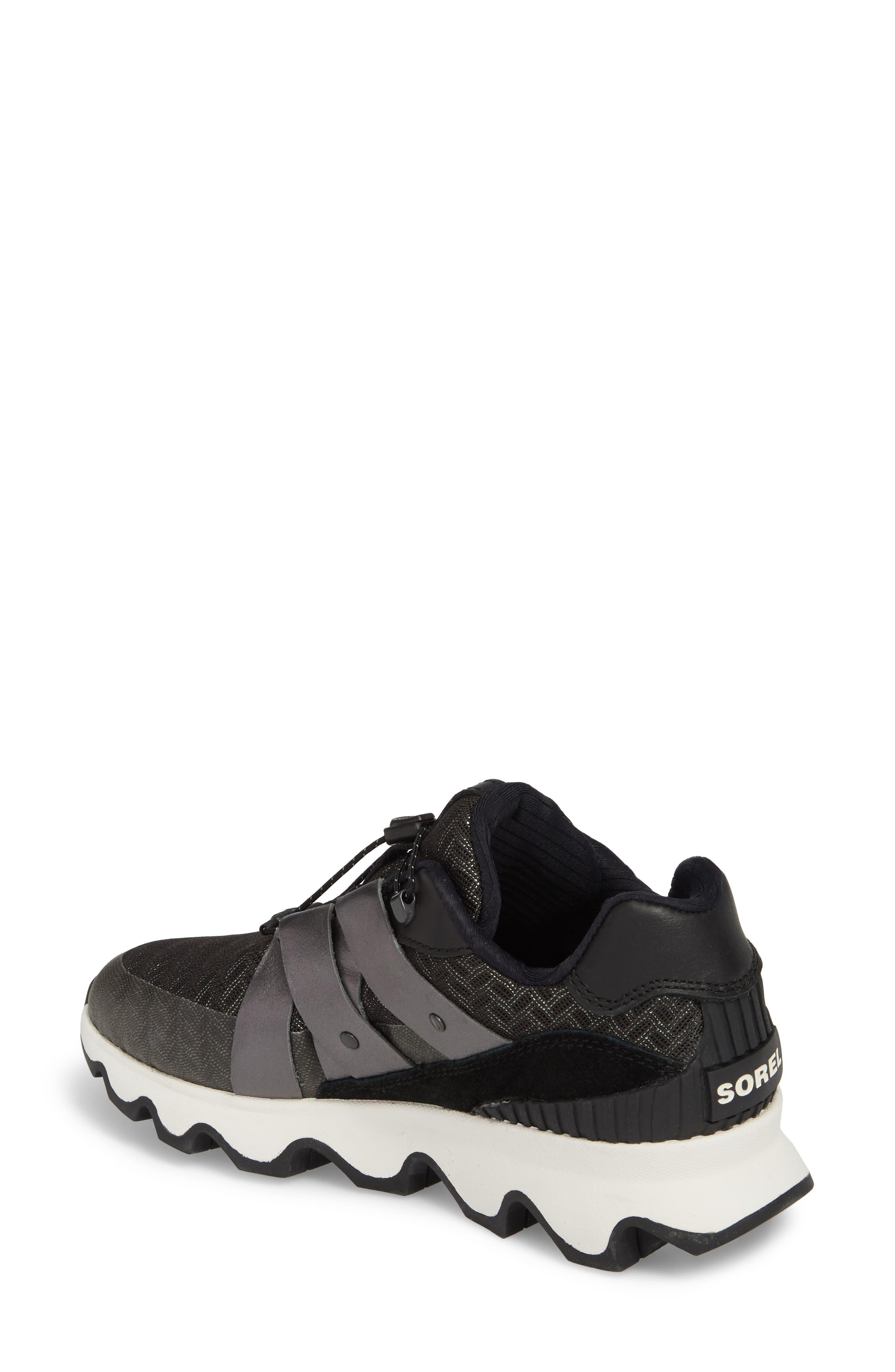 Kinetic Speed Sneaker,                             Alternate thumbnail 2, color,                             Black/ Sea Salt