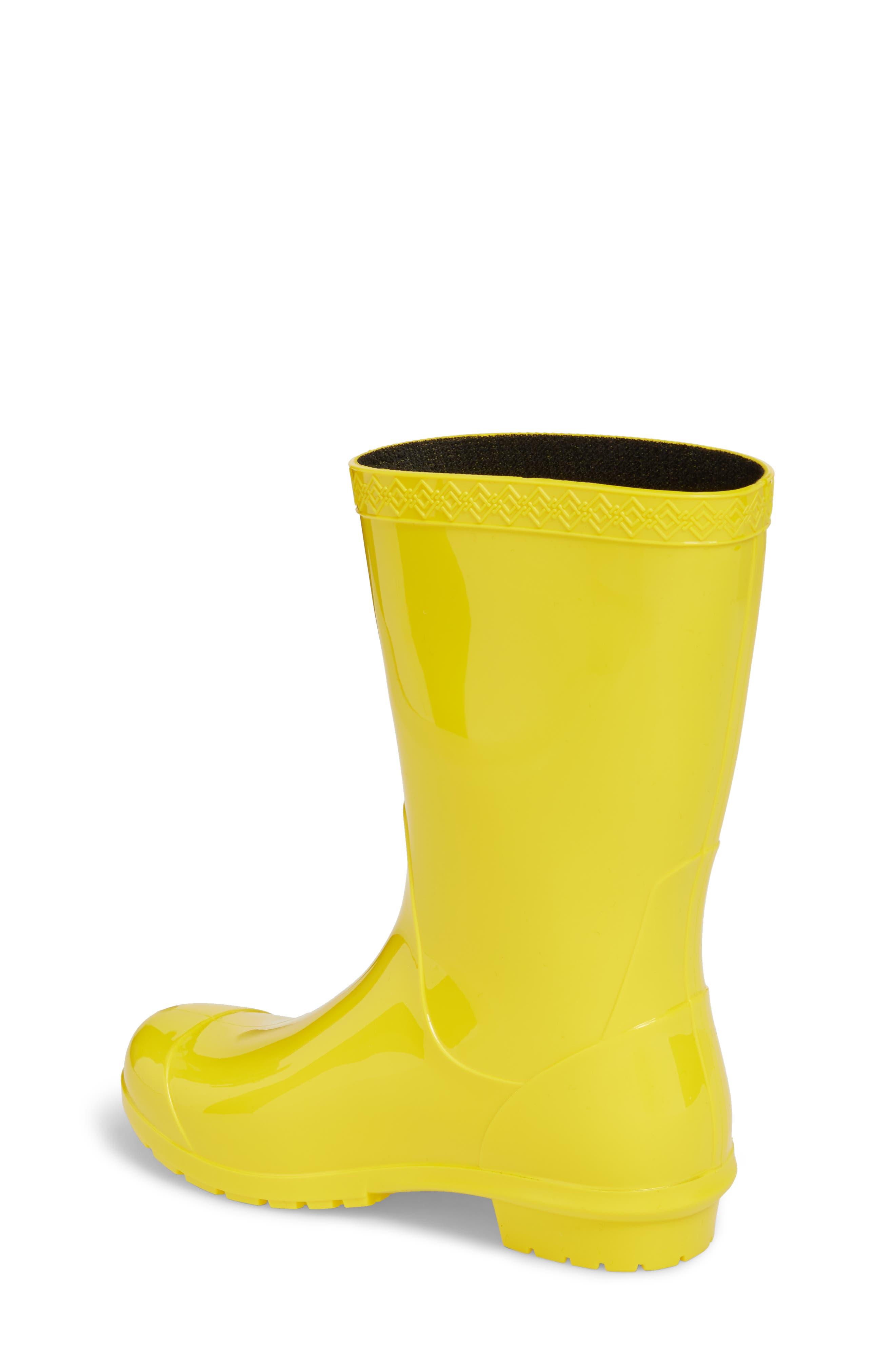 Alternate Image 2  - UGG® Raana Waterproof Rain Boot (Little Kid & Big Kid)