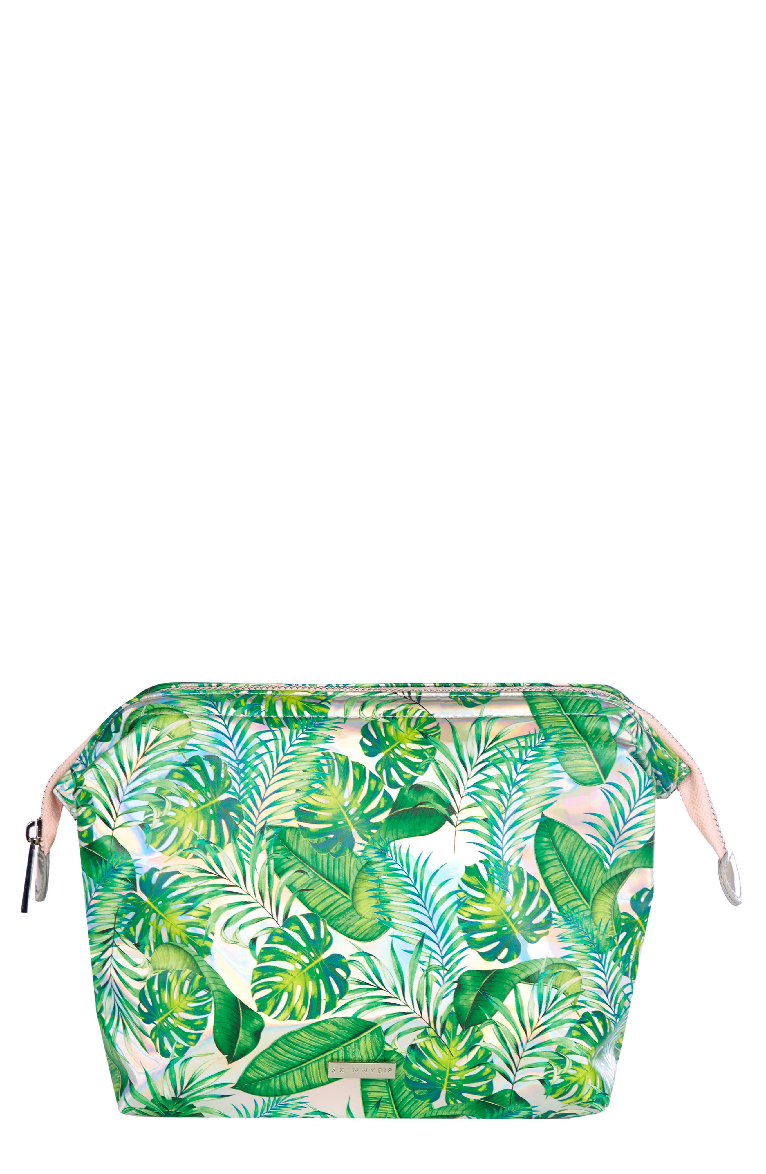 Skinny Dip Dominica Large Cosmetics Case,                         Main,                         color, No Color
