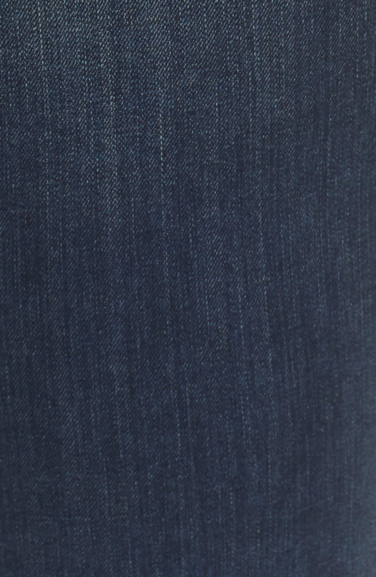 Release Hem Ankle Jeans,                             Alternate thumbnail 6, color,                             Mid Vintage