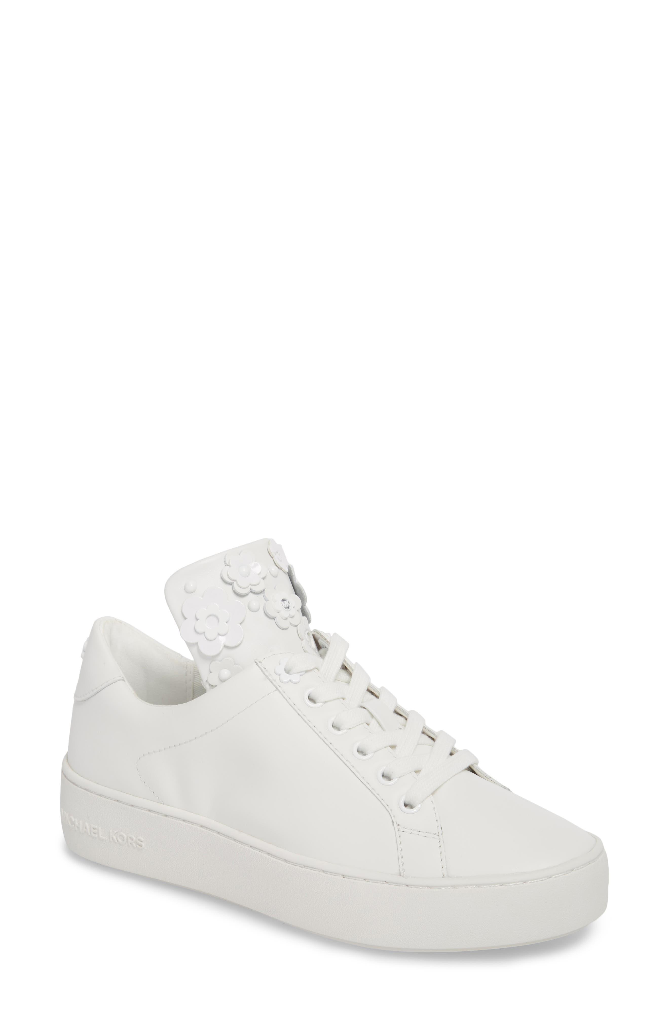 Mindy Platform Sneaker,                         Main,                         color, Optic White